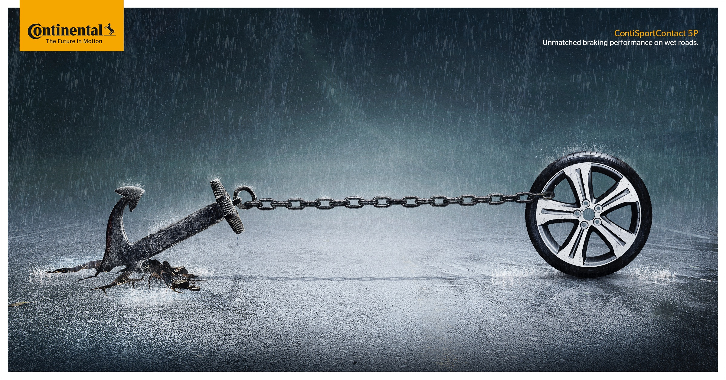 continental print advert by havas  brake