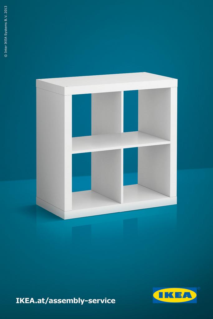 Good IKEA Print Ad   Shelf