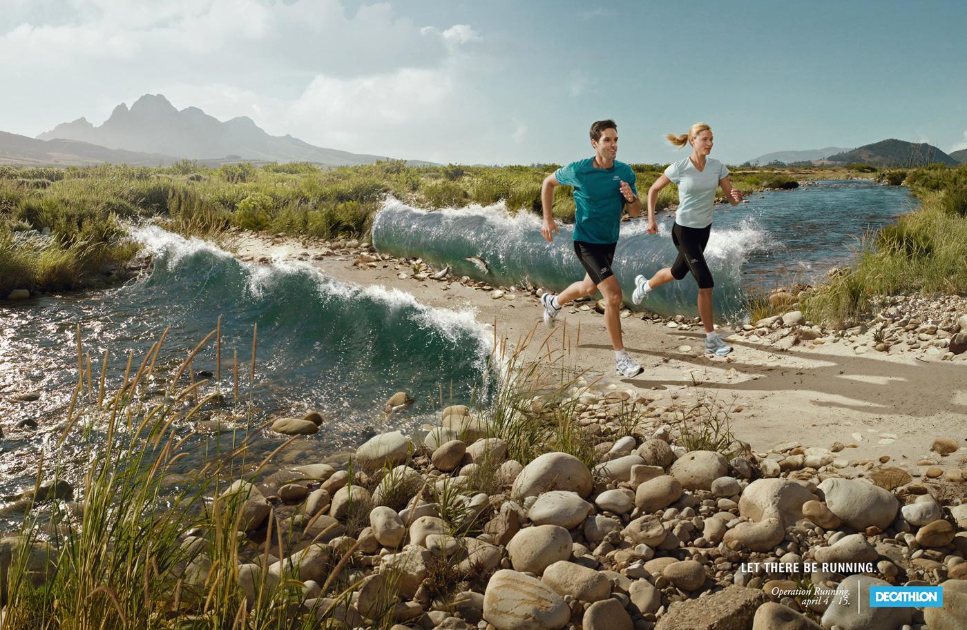 Decathlon Print Advert By Y&R: Operation Running