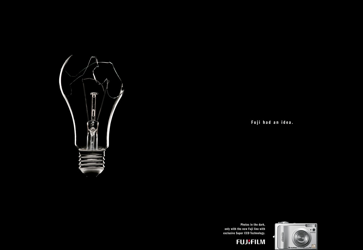 Print Advert By : Broken lamp | Ads of the World™