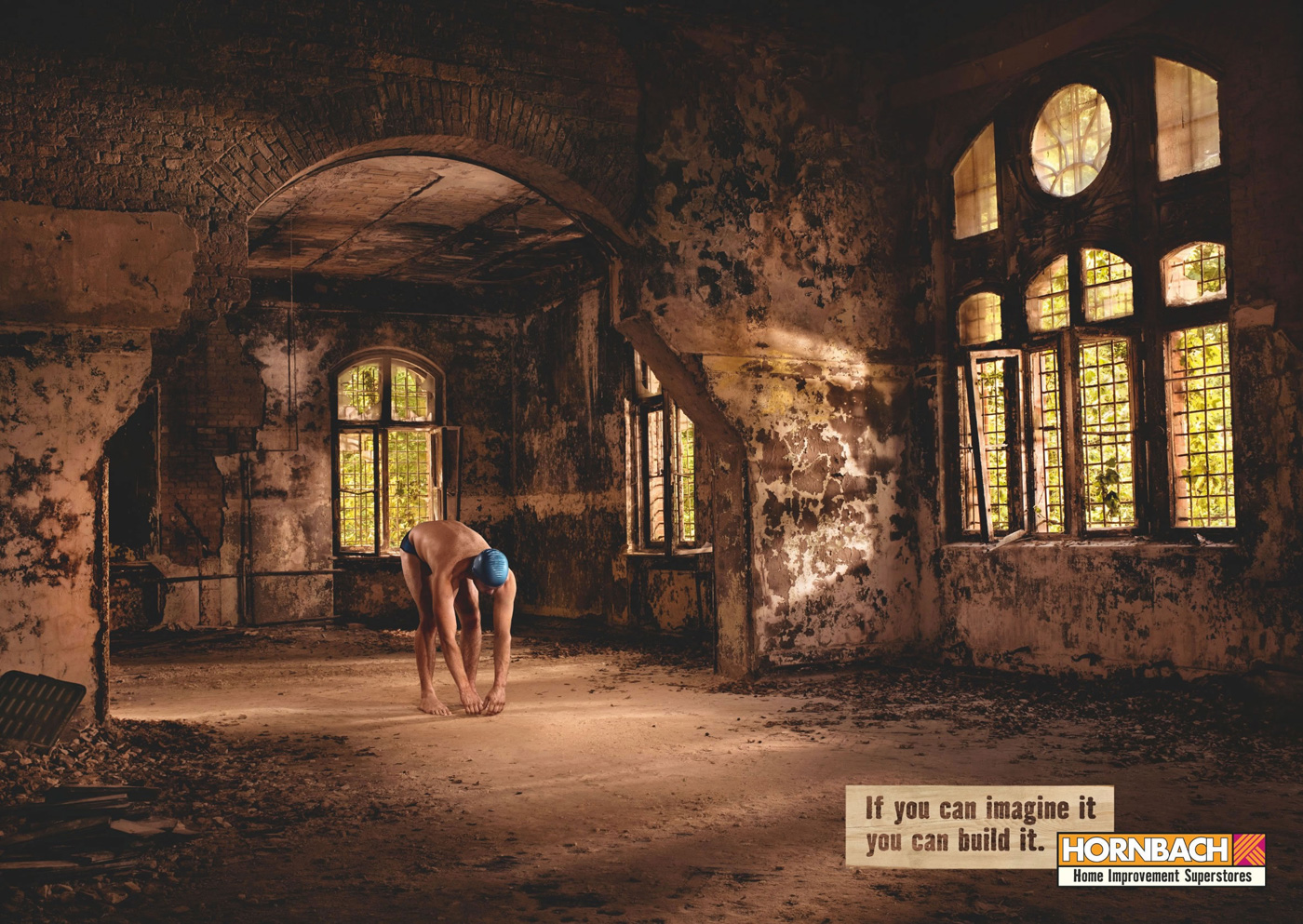 Hornbach print advert by heimat pool ads of the world for Wallpaper home improvement questions