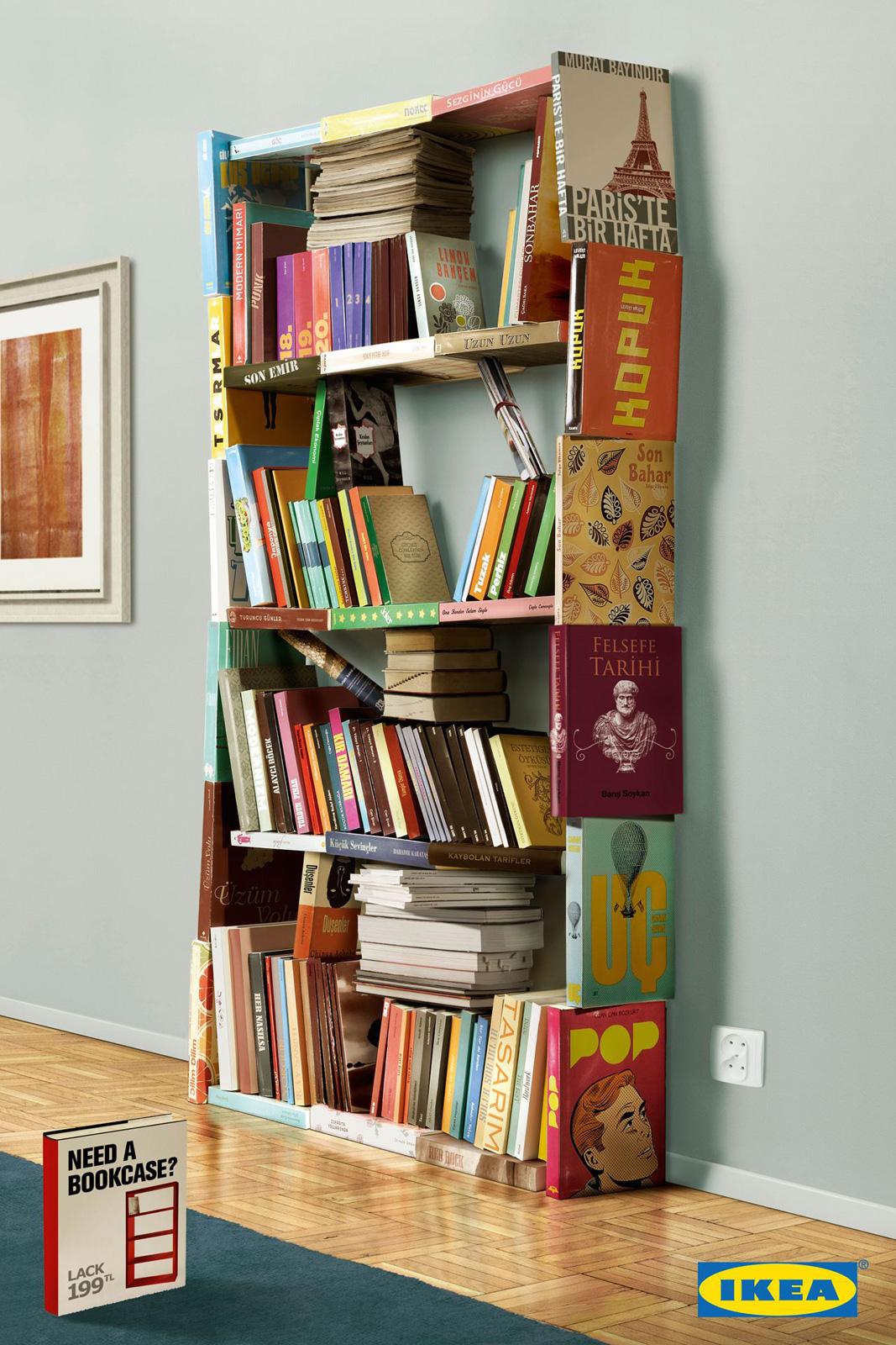 Книжный шкаф своими руками из подручных материалов