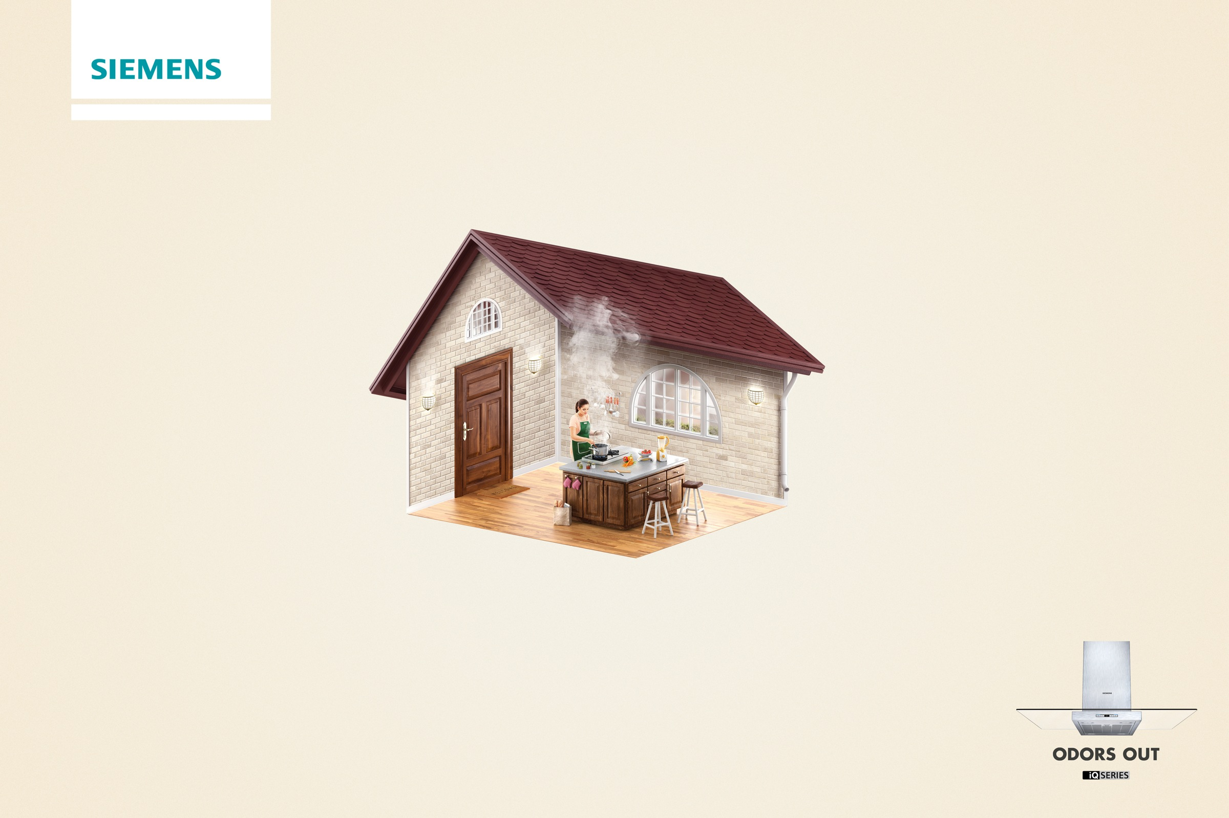 Siemens Print Ad - Odors Out - house