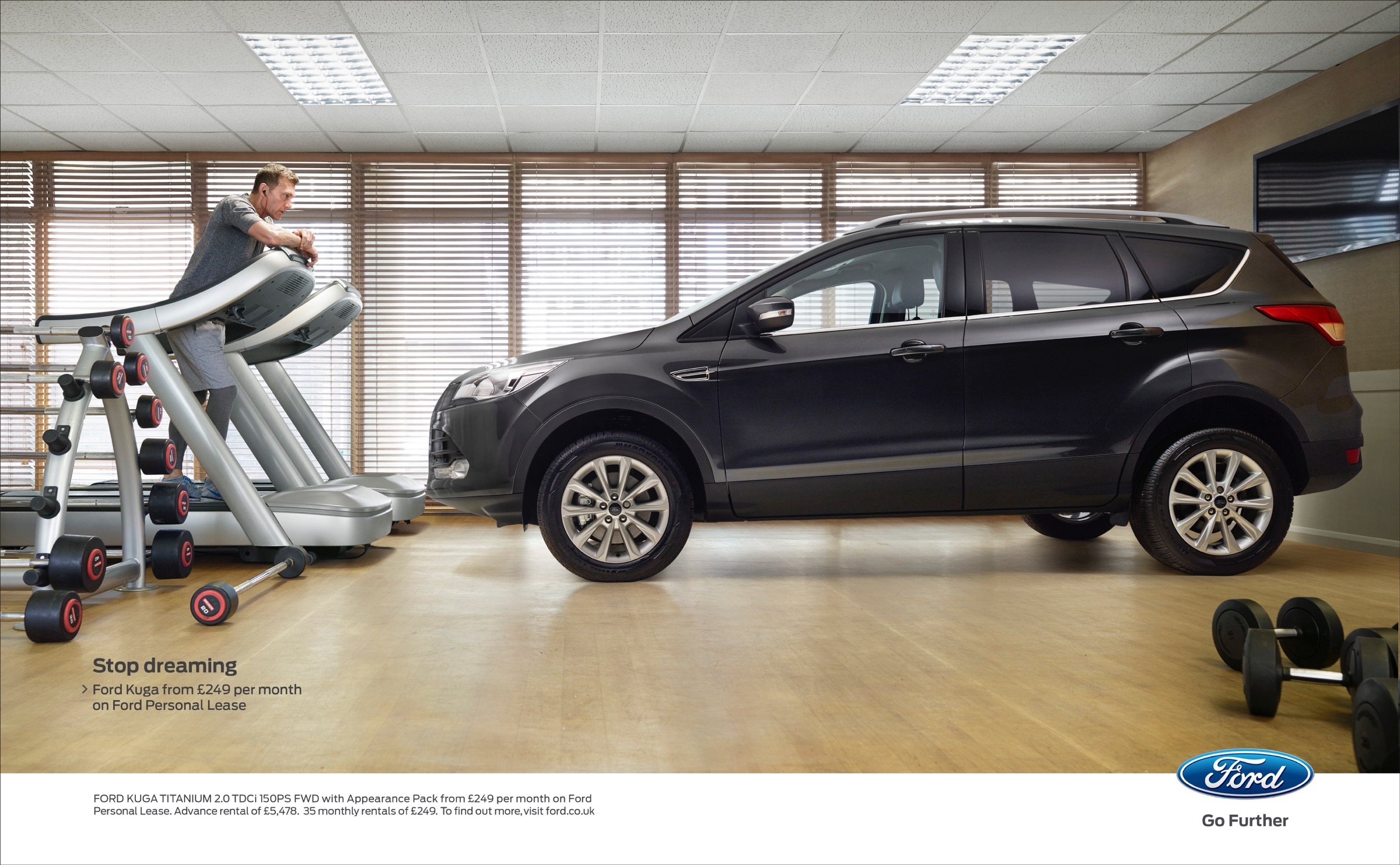Ford Print Advert By Blue Hive Stop Dreaming 3 Ads Of The World