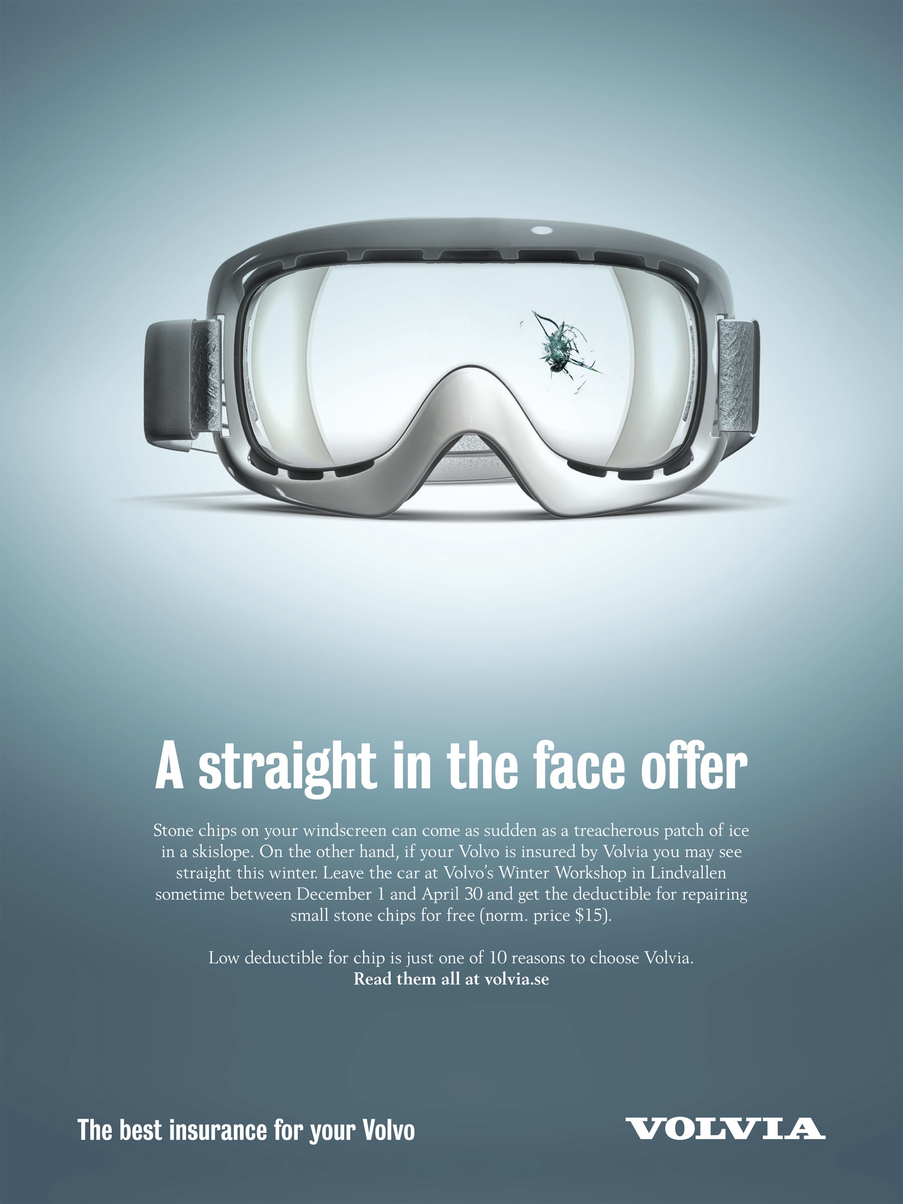 volvia print advert by forsman amp bodenfors goggles ads