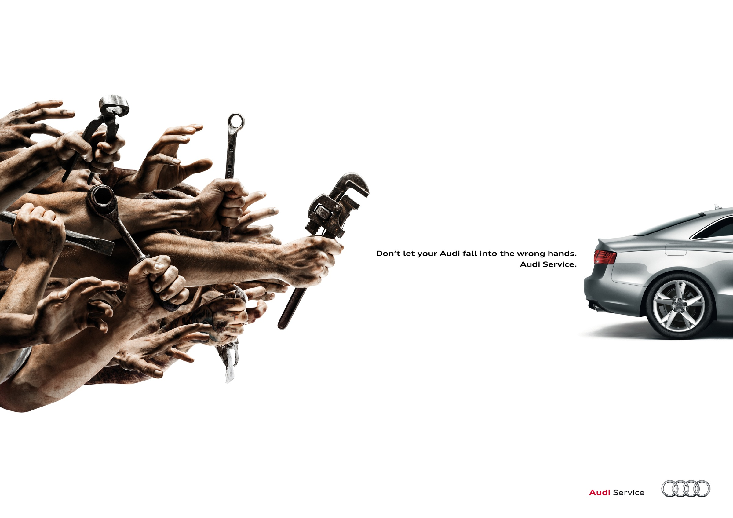 Audi Print Advert By Thjnk Wrench Ads Of The World