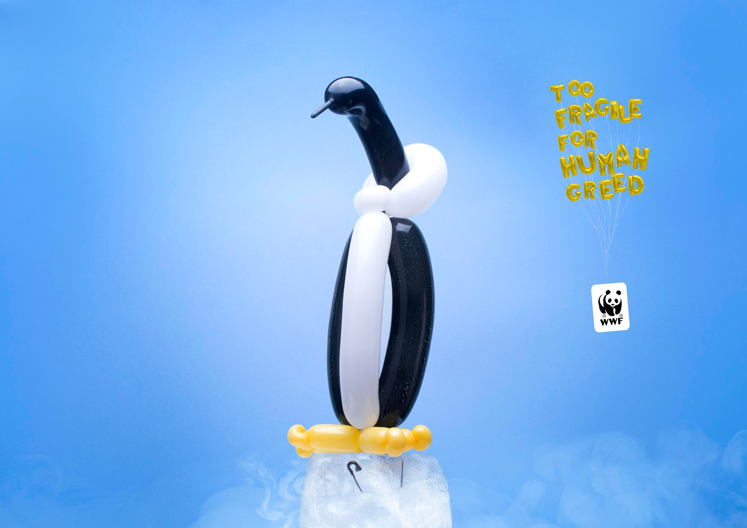 WWF Print Advert By Miami Ad School: Ballon animals, 4 ...