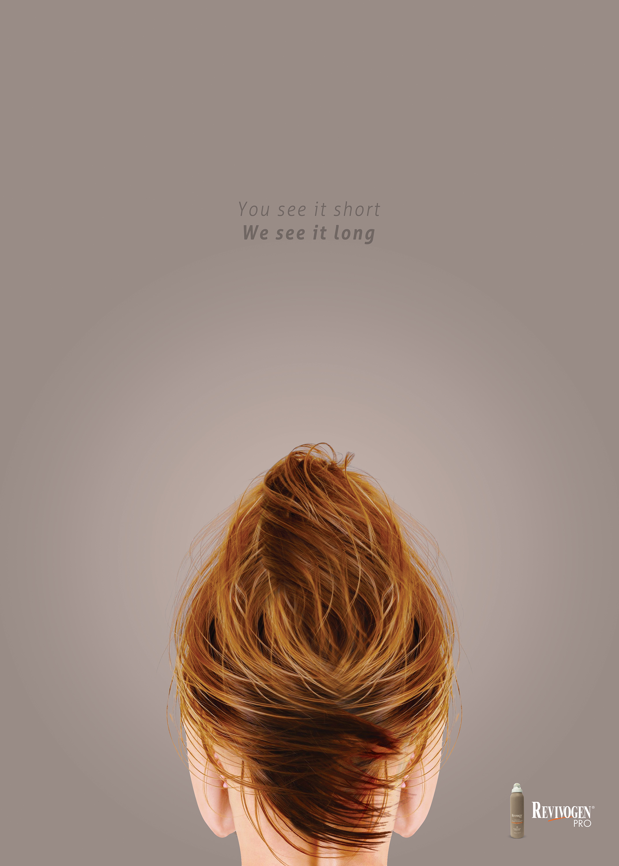 Revivogen Print Advert By Rabhole: Hair care | Ads of the ...