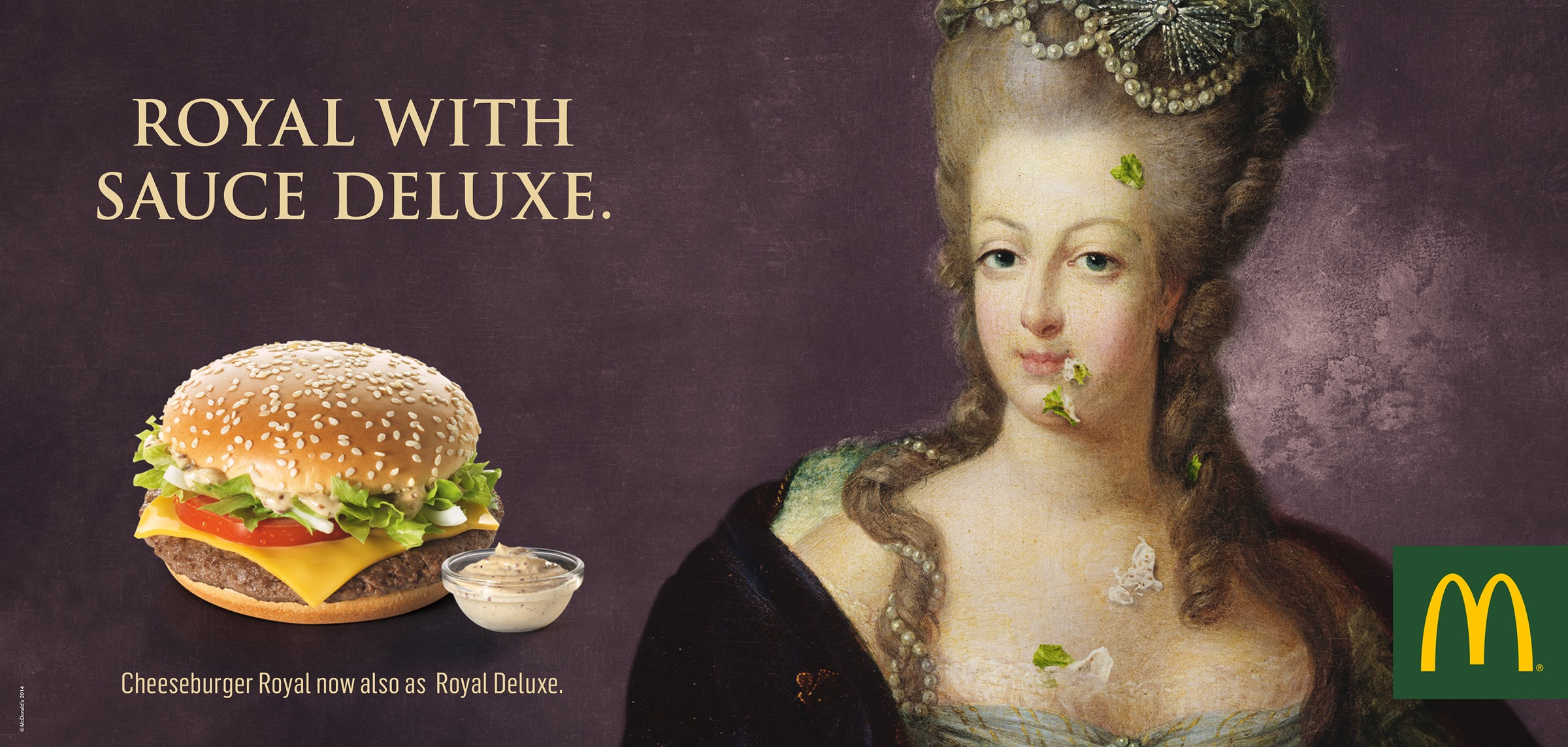Super McDonald's Print Advert By TBWA: Royal with Sauce Deluxe | Ads of  GX61
