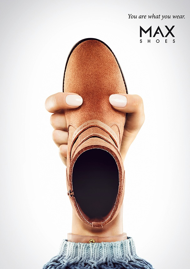 MAX Shoes Print Ad - Face, 3