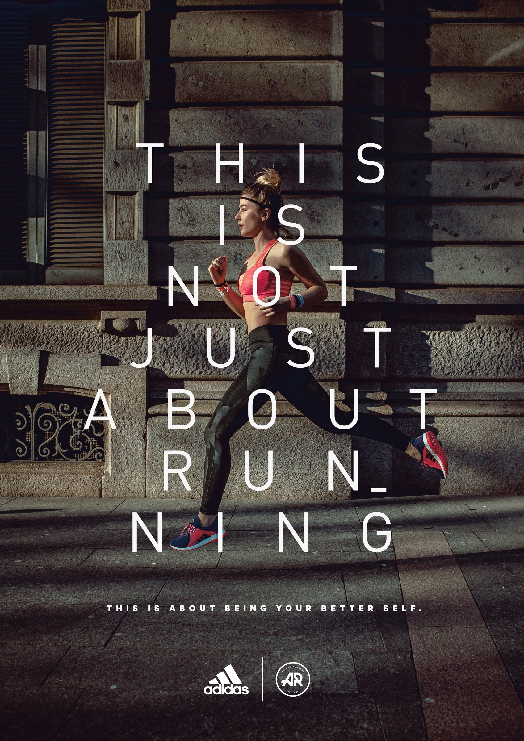 Adidas Print Advert By The Big Now: Running | Ads of the ...