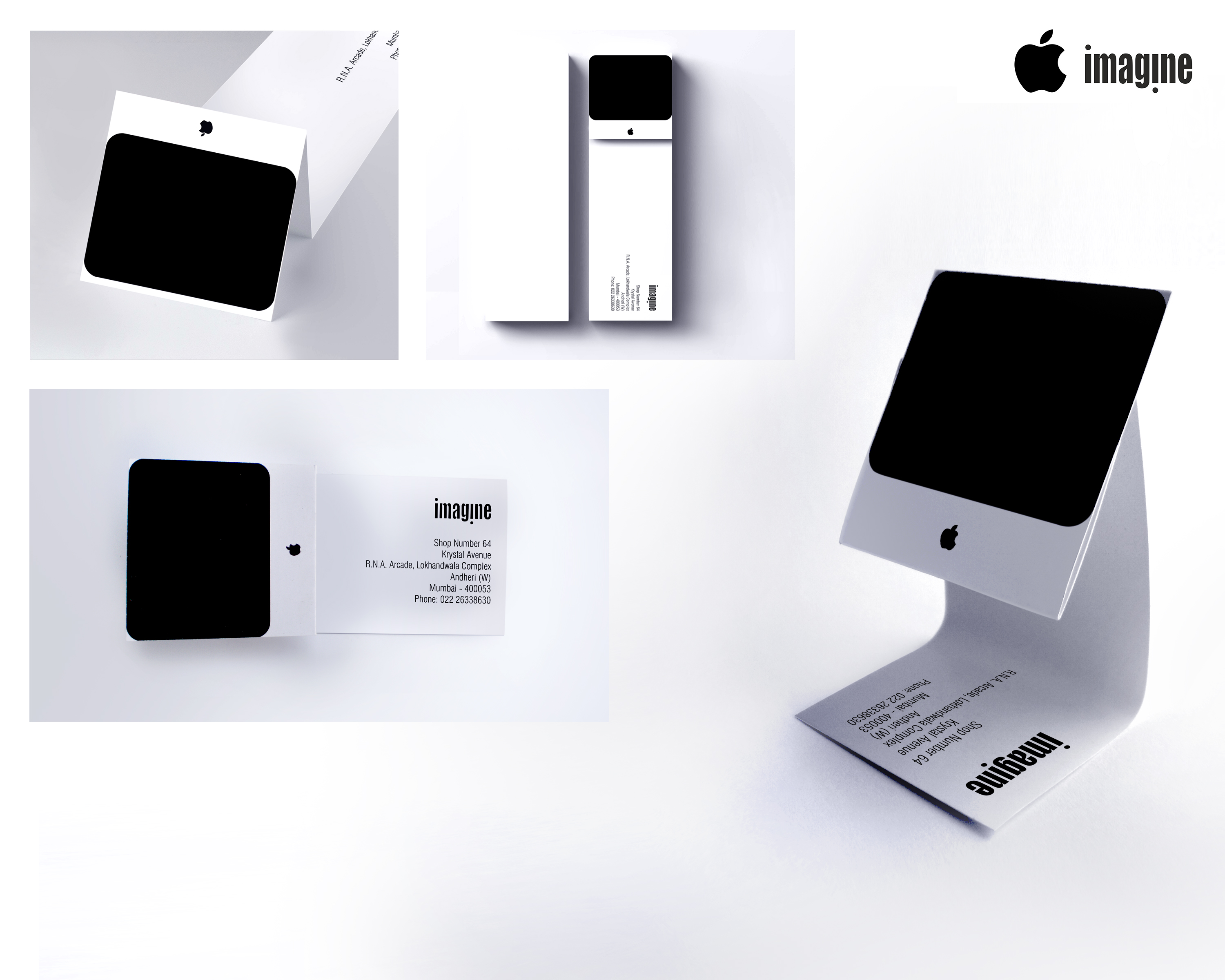 Apple Direct Advert By : iMac Business Card | Ads of the World™
