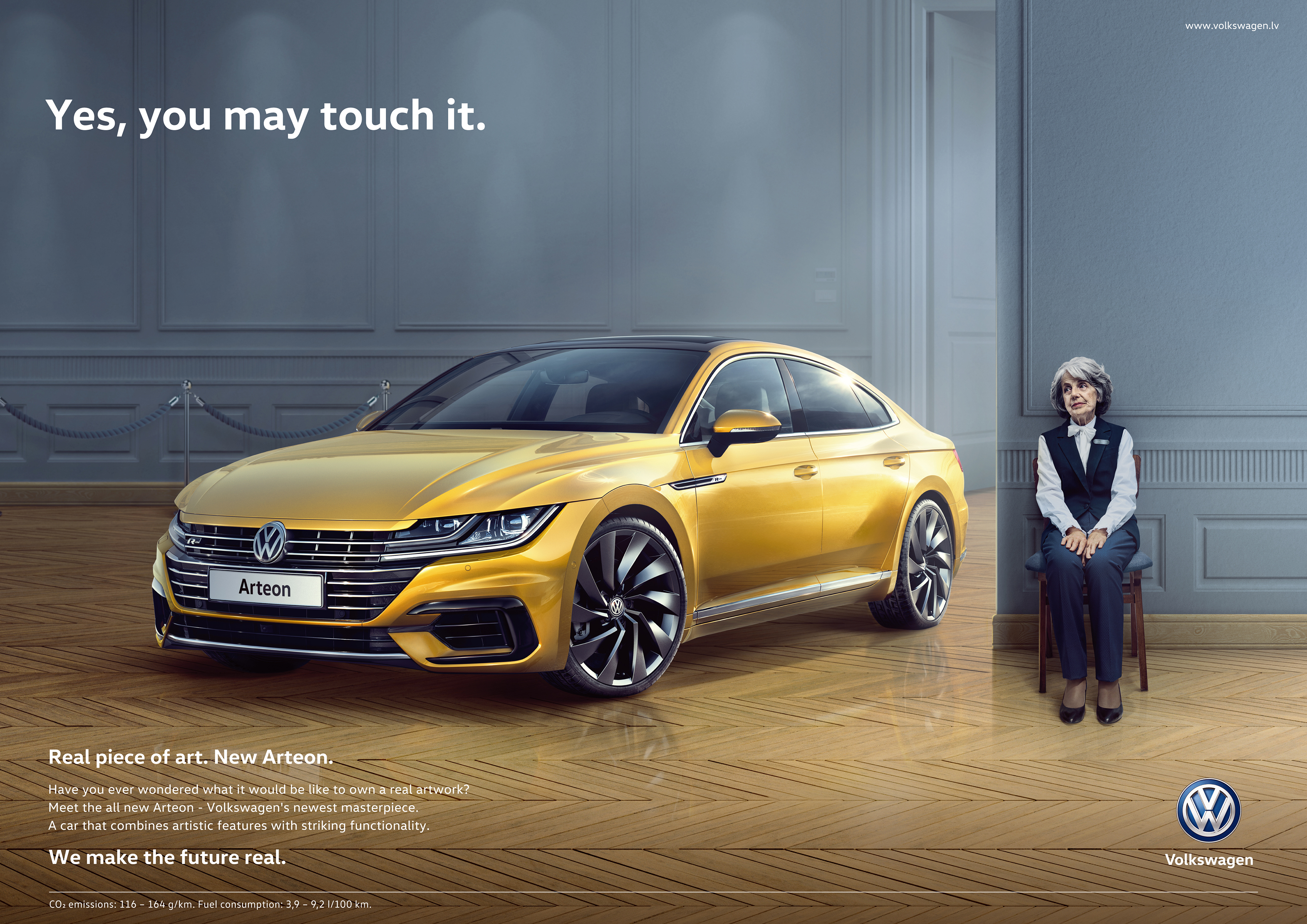 Volkswagen Print Advert By Not Perfect Real Piece Of Art