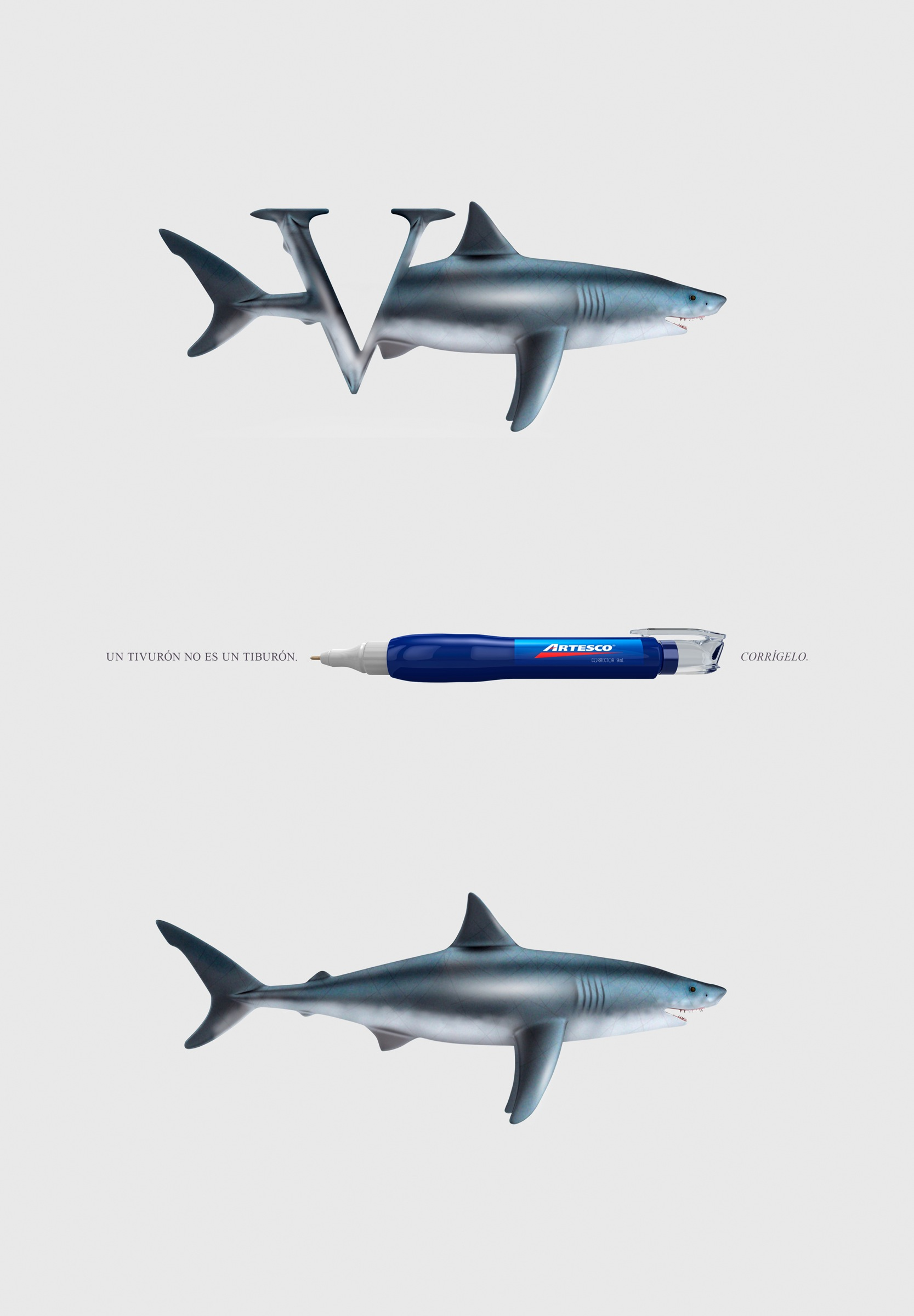 Uncategorized Shark Images To Print artesco print advert by causa correct it shark ads of the ad shark