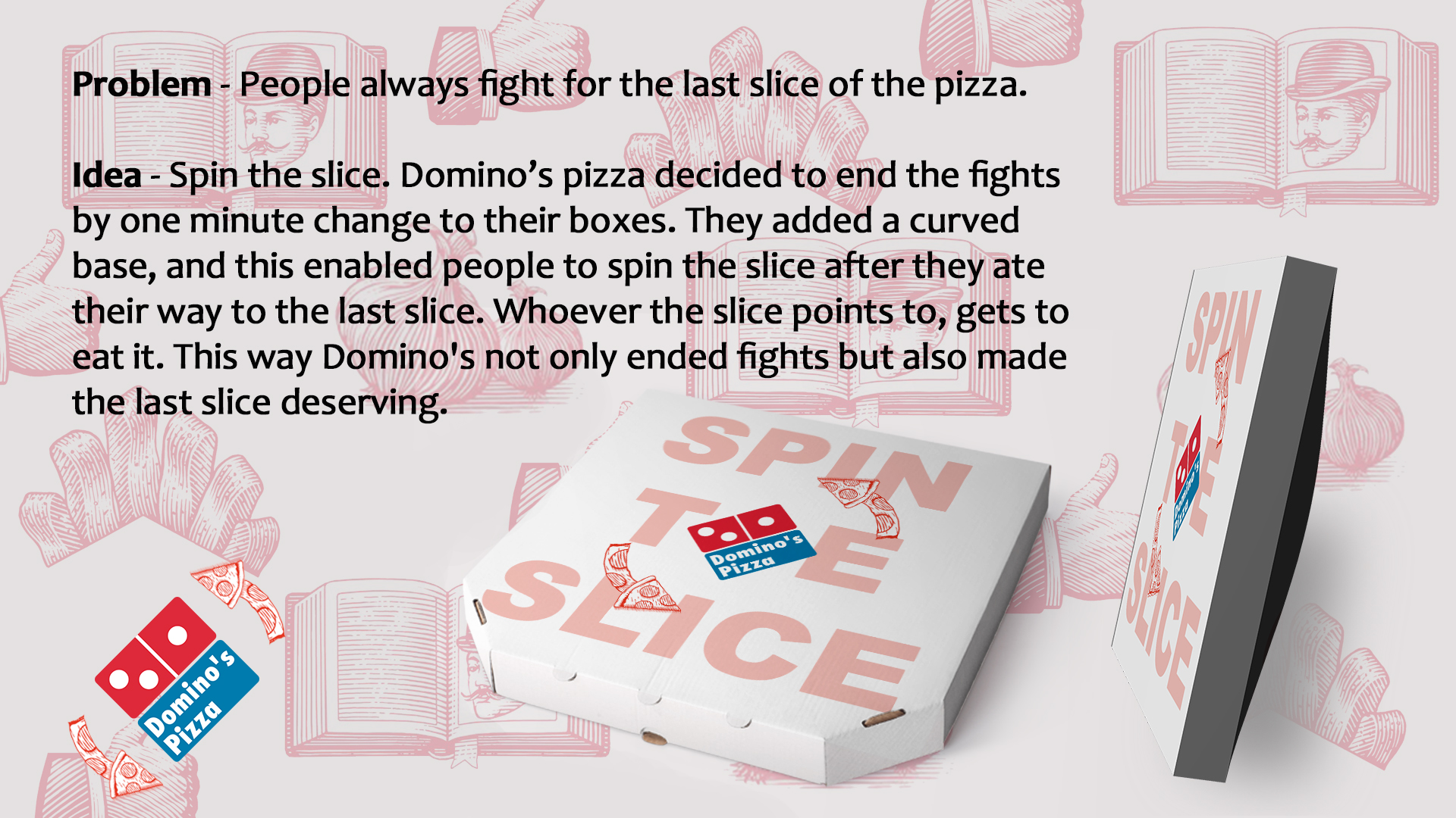 Domino\'s Pizza Design Advert By : Spin the Slice   Ads of the World™