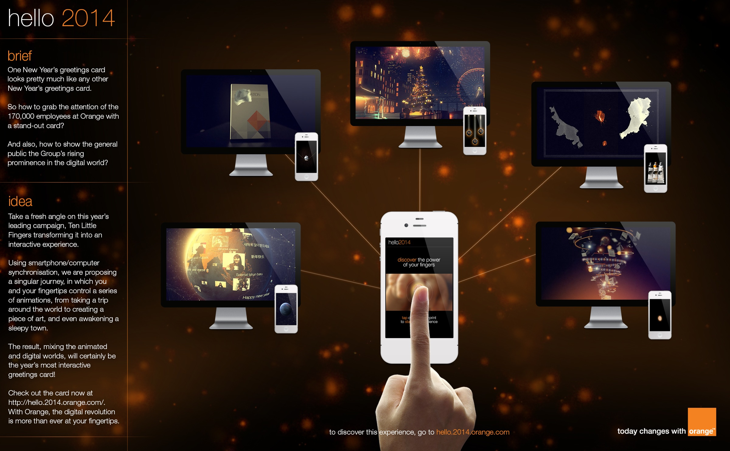 Orange Digital Advert By Publicis Greeting Card Ads Of The World