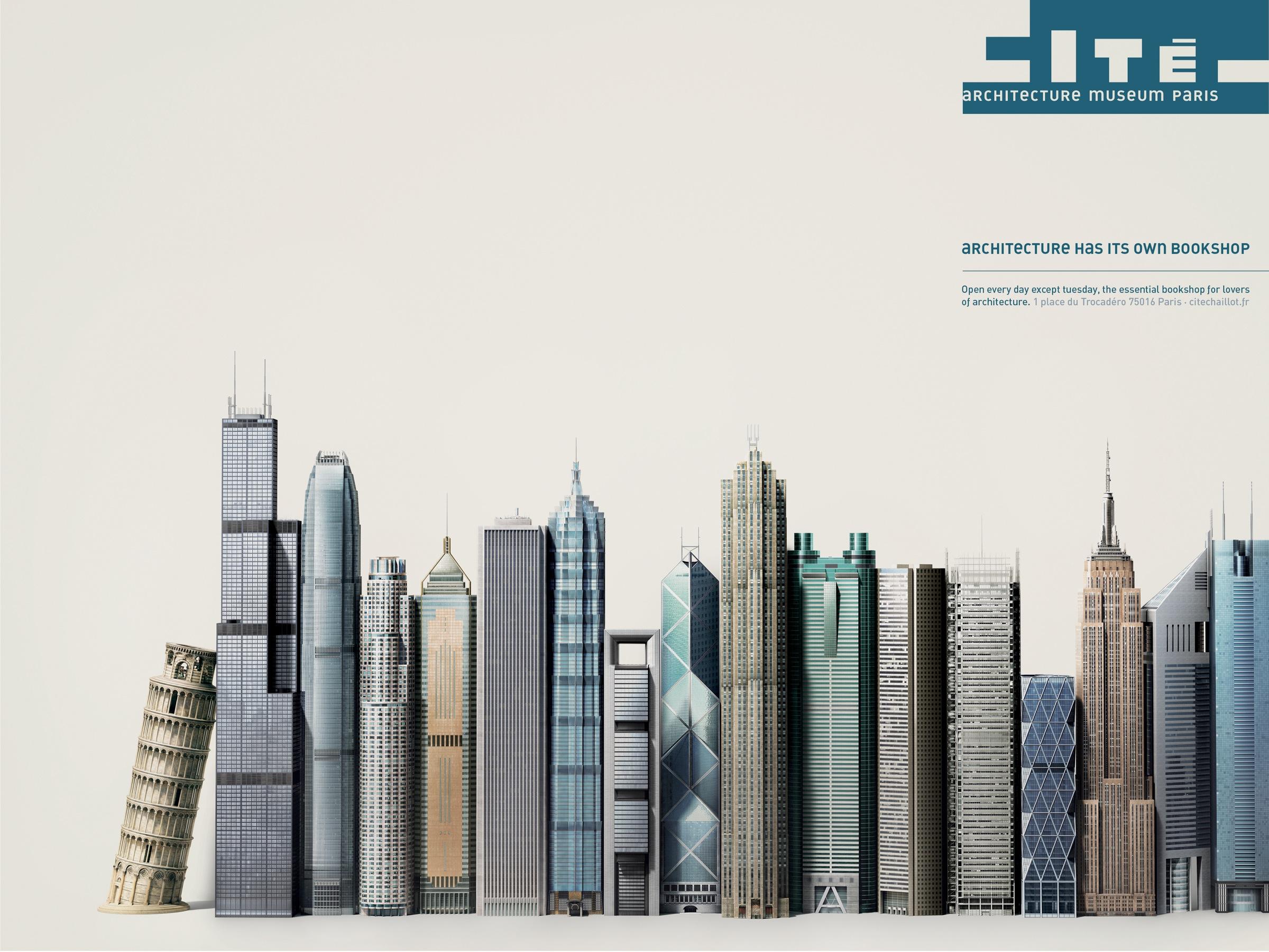 cit de l 39 architecture et du patrimoine print advert by. Black Bedroom Furniture Sets. Home Design Ideas