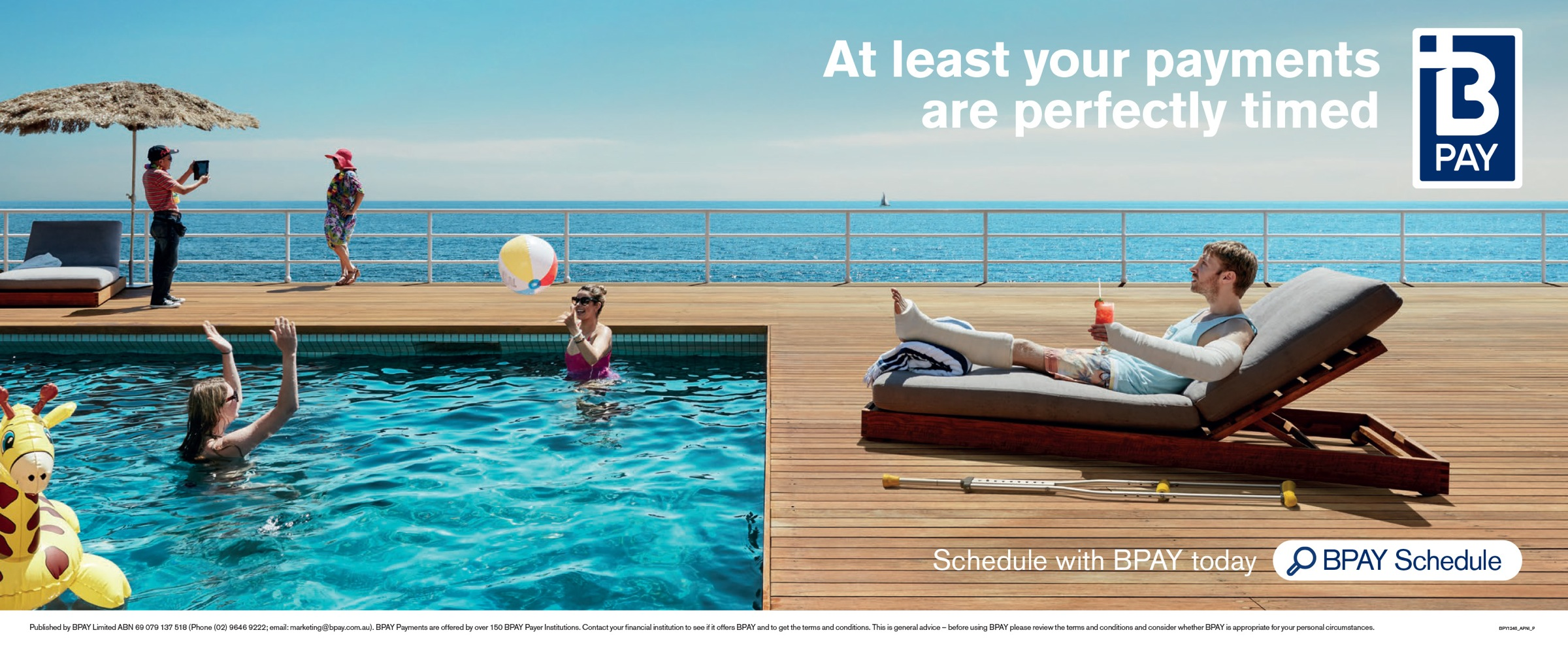 Bpay Print Advert By Bmf Pool Ads Of The World