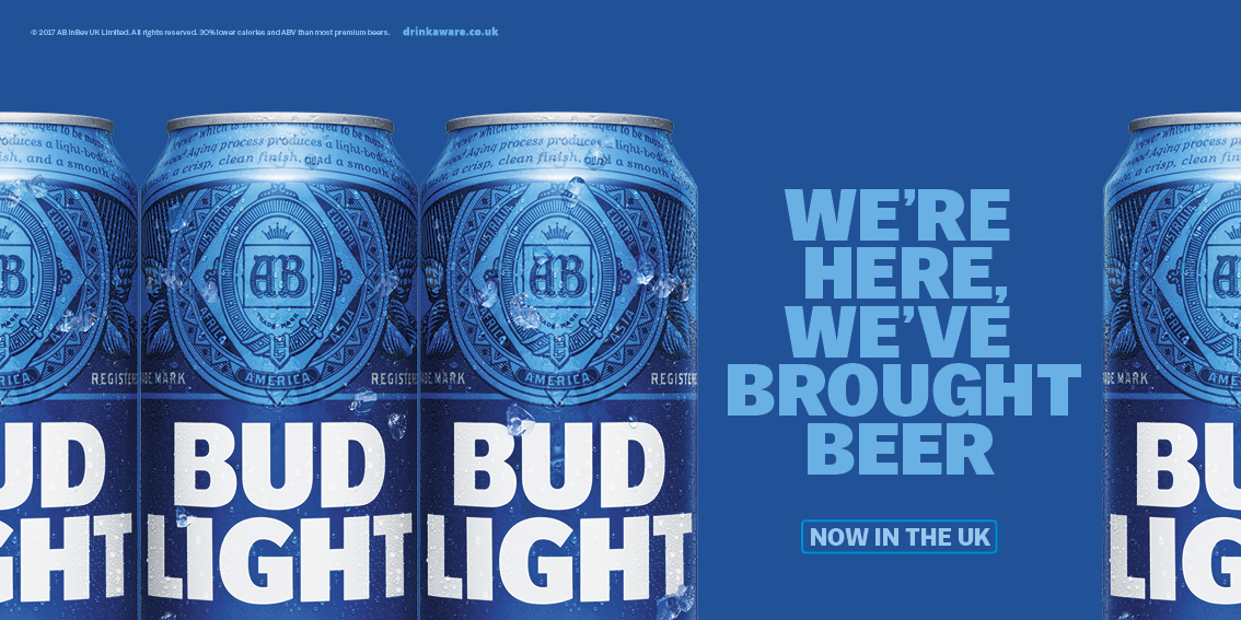 Good Bud Light Outdoor Ad   Weu0026#039;re Here Images