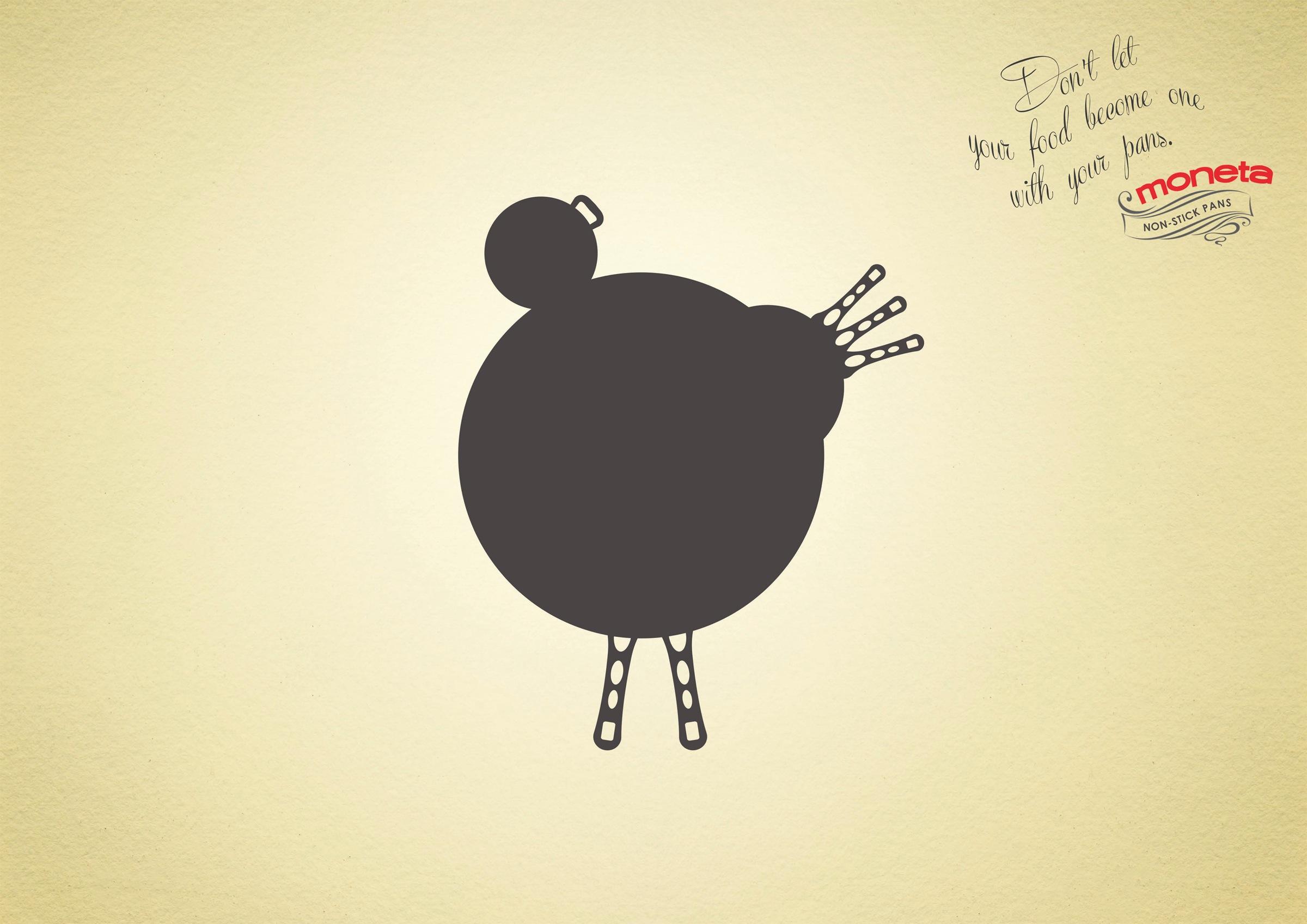moneta print advert  yr chicken ads   world