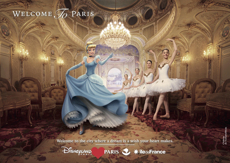 Disneyland Paris Print Advert By Betc Cinderella Ads Of