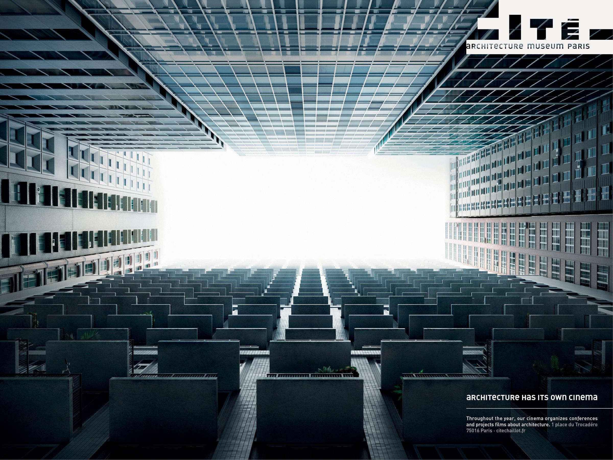 Cité De Lu0026#039;architecture Et Du Patrimoine Print Ad   Cinema