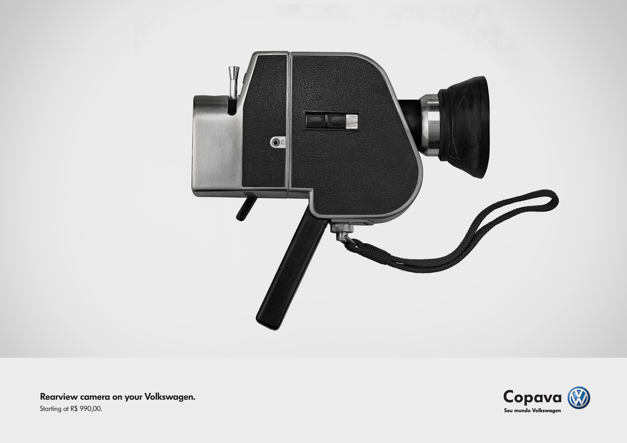 Volkswagen Print Advert By Verbal: Rearview camera | Ads of the World™