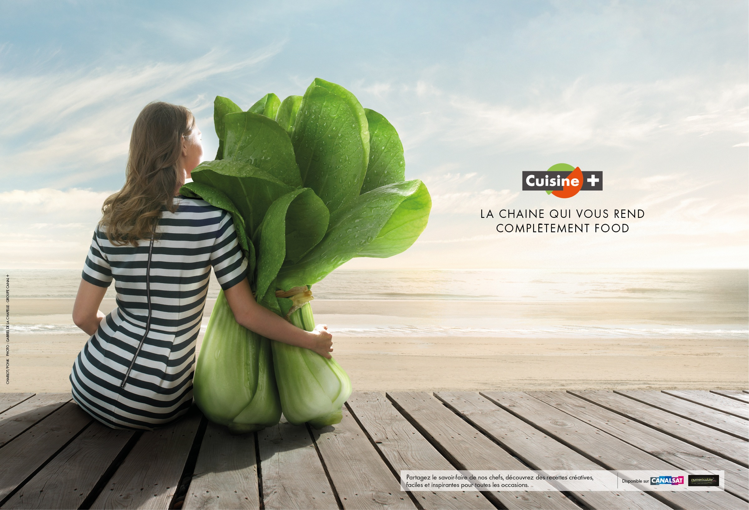 Cuisine Print Advert By Ponk Passionately Cooking Ads Of - Chaine cuisine canalsat