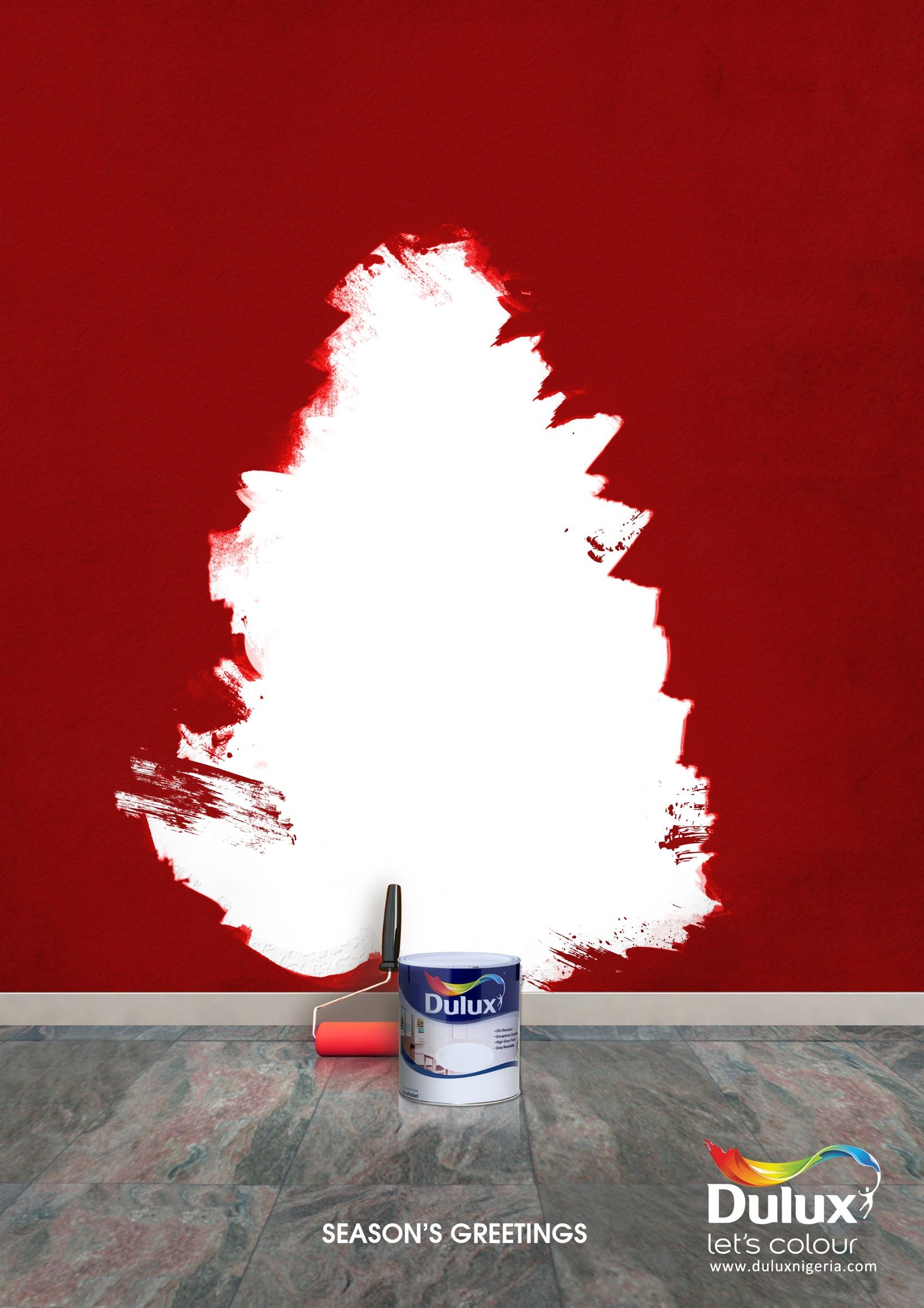 Dulux print advert by noahs ark creative seasons greetings ads seasons greetings m4hsunfo