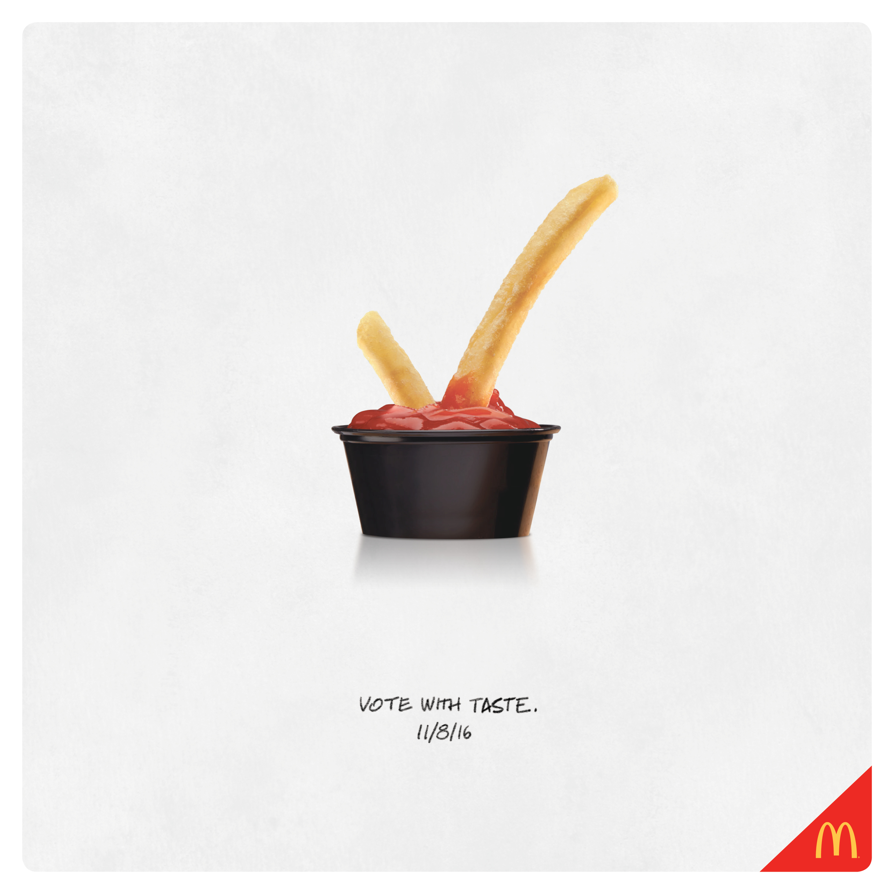McDonald\'s Print Advert By Moroch: Election Day | Ads of the World™
