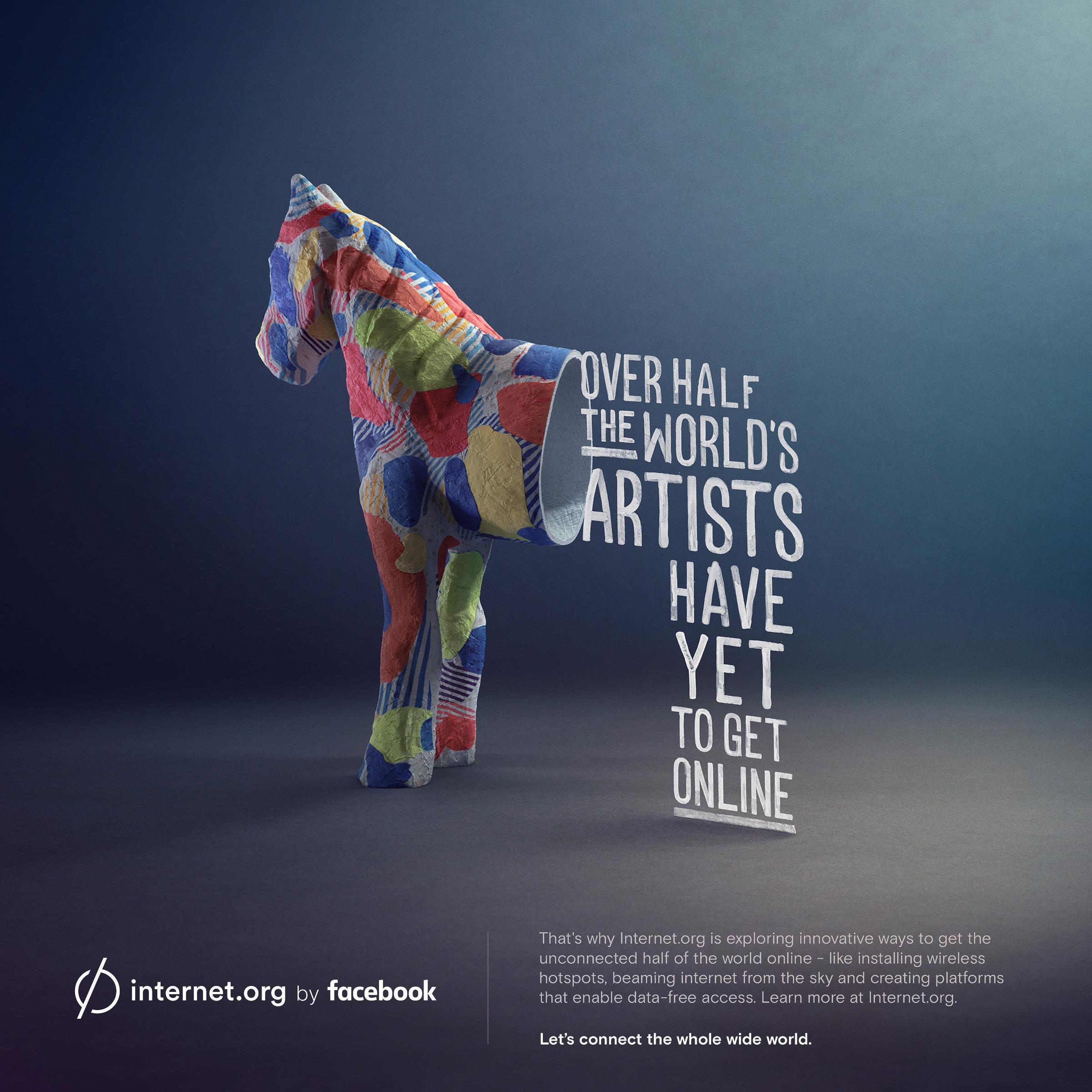 Facebook Print Advert By Sid Lee: internet.org - Artists ...