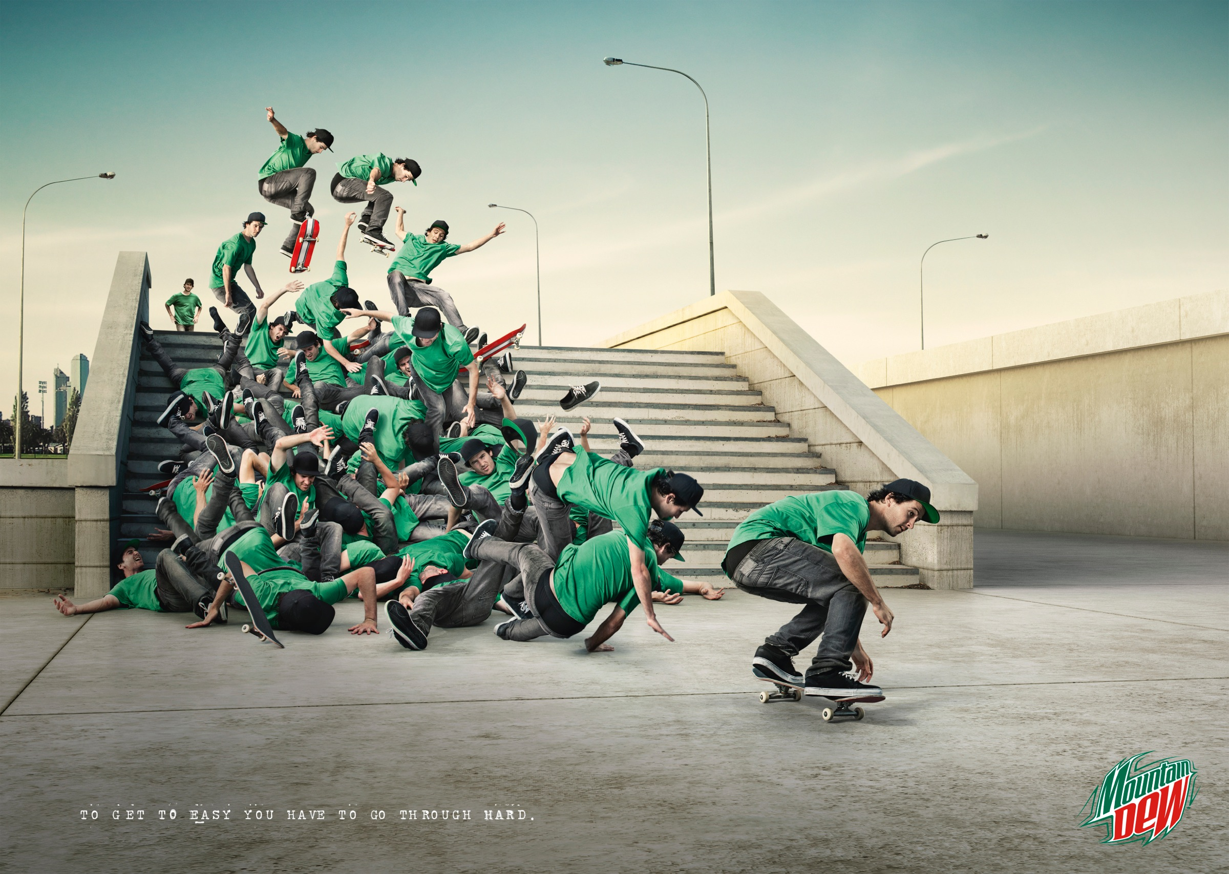 Mountain Dew Print Advert By Bbdo Philosophy Ads Of The
