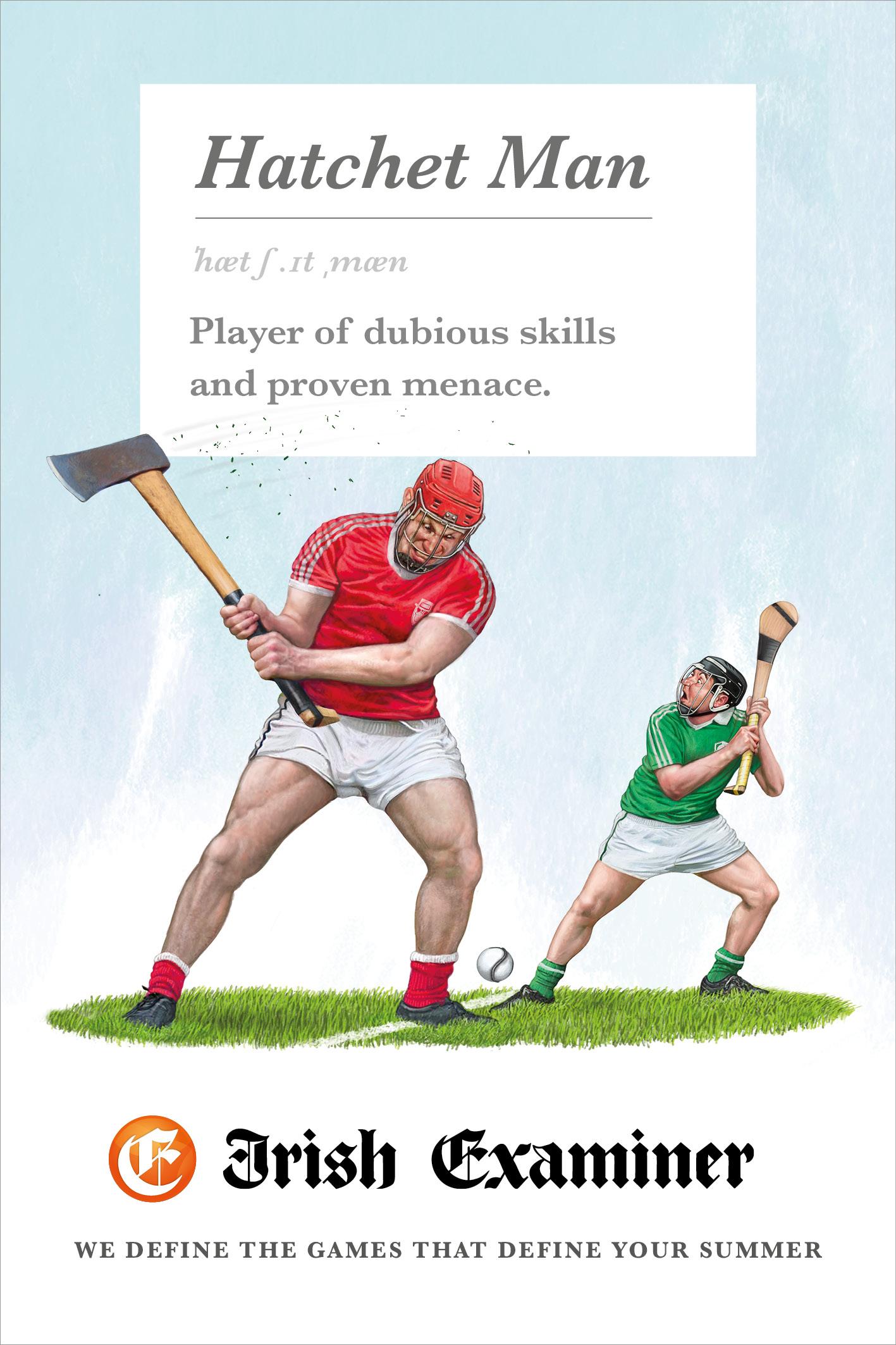 irish examiner print advert by chemistry we define the games
