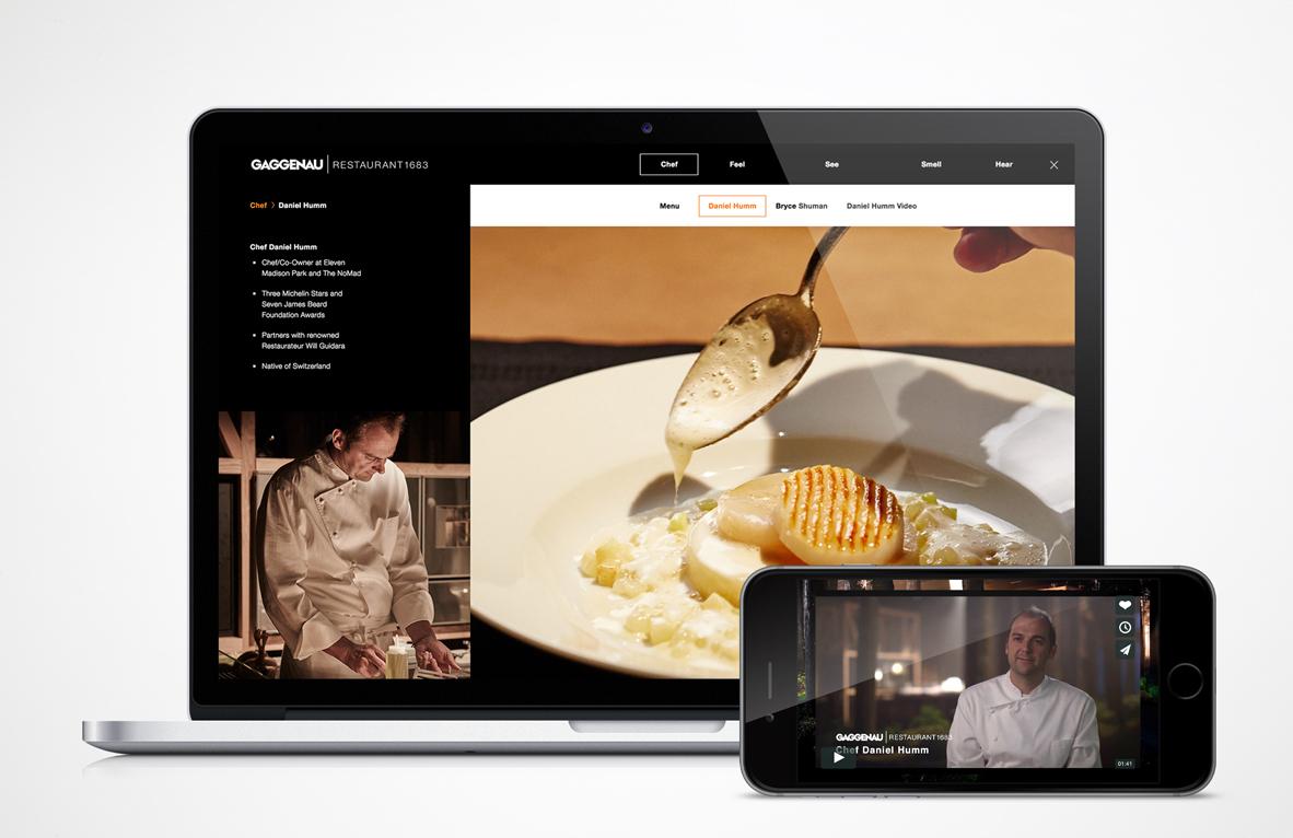 Gaggenau Experiential Advert By Lambesis Gaggenau Restaurant - Cuisine gaggenau