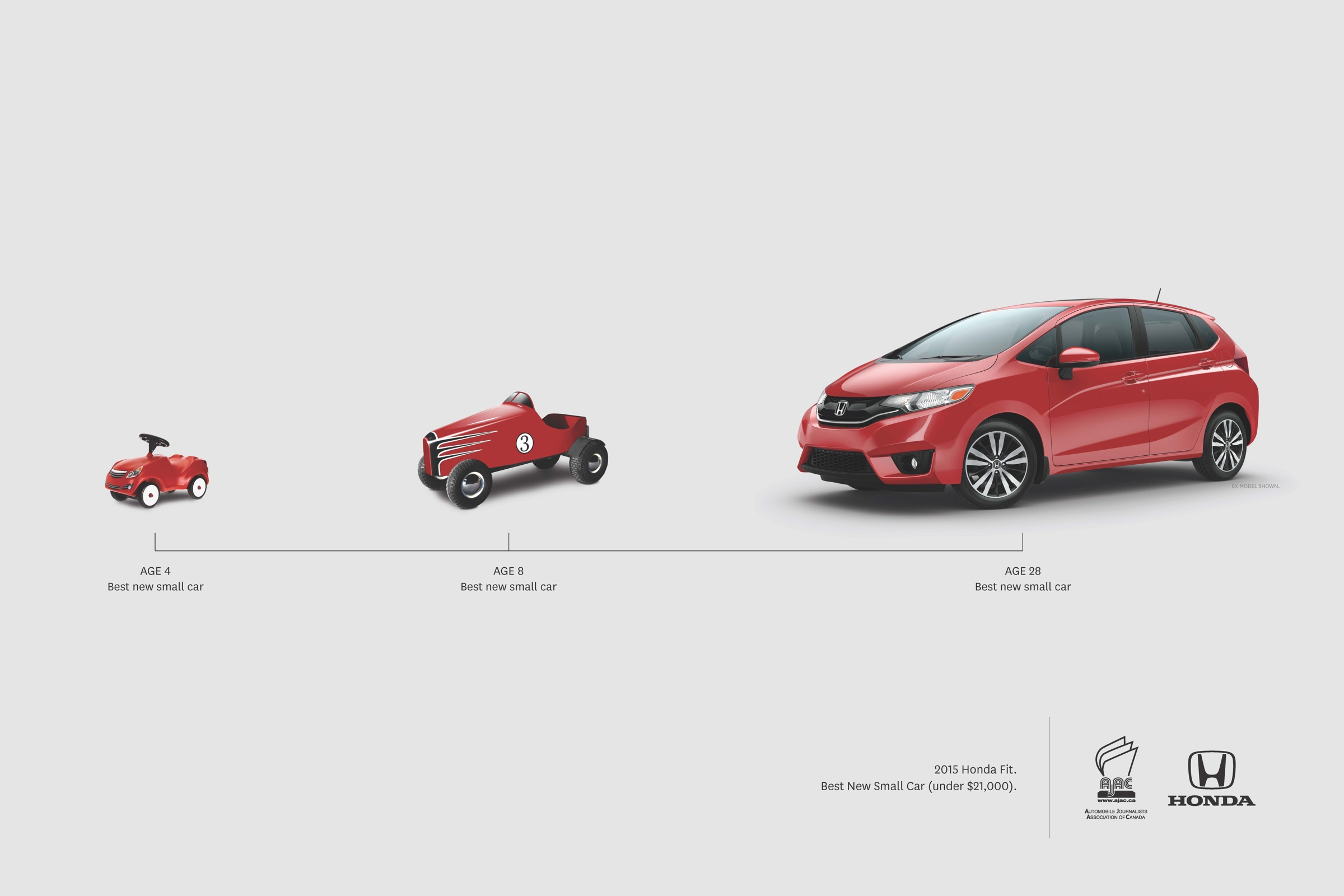 Honda Outdoor Advert By Grip Limited Best New Small Car