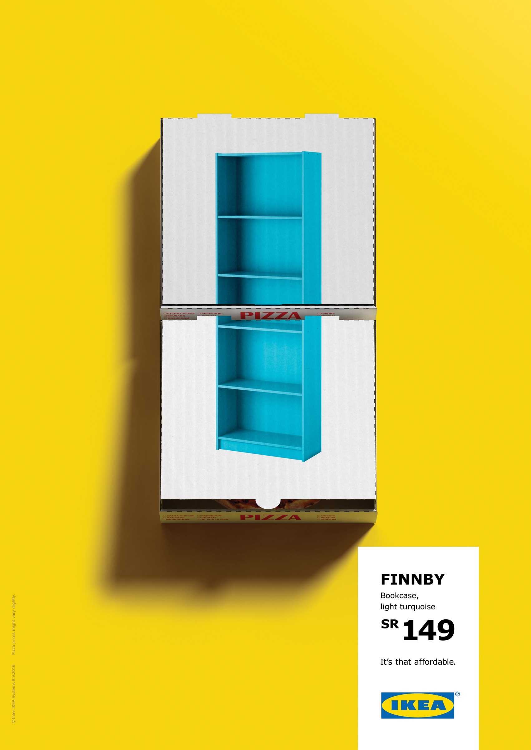 Ikea print advert by ogilvy bookcase ads of the world for Ikea commercial 2017