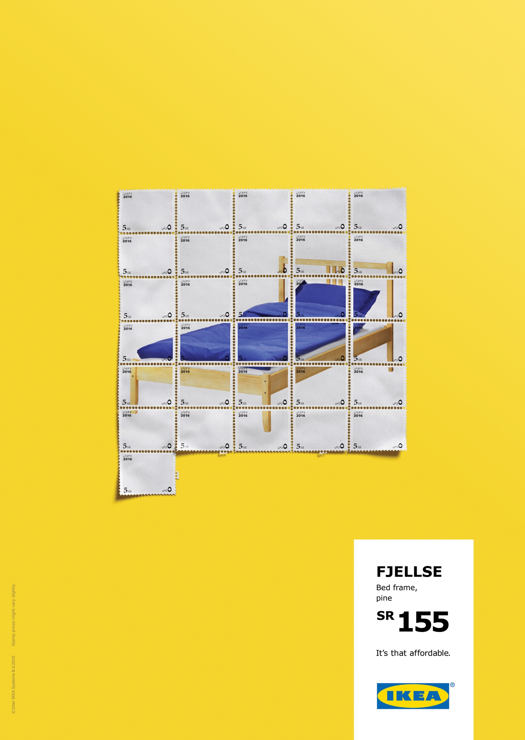 IKEA Print Advert By Ogilvy Bedroom