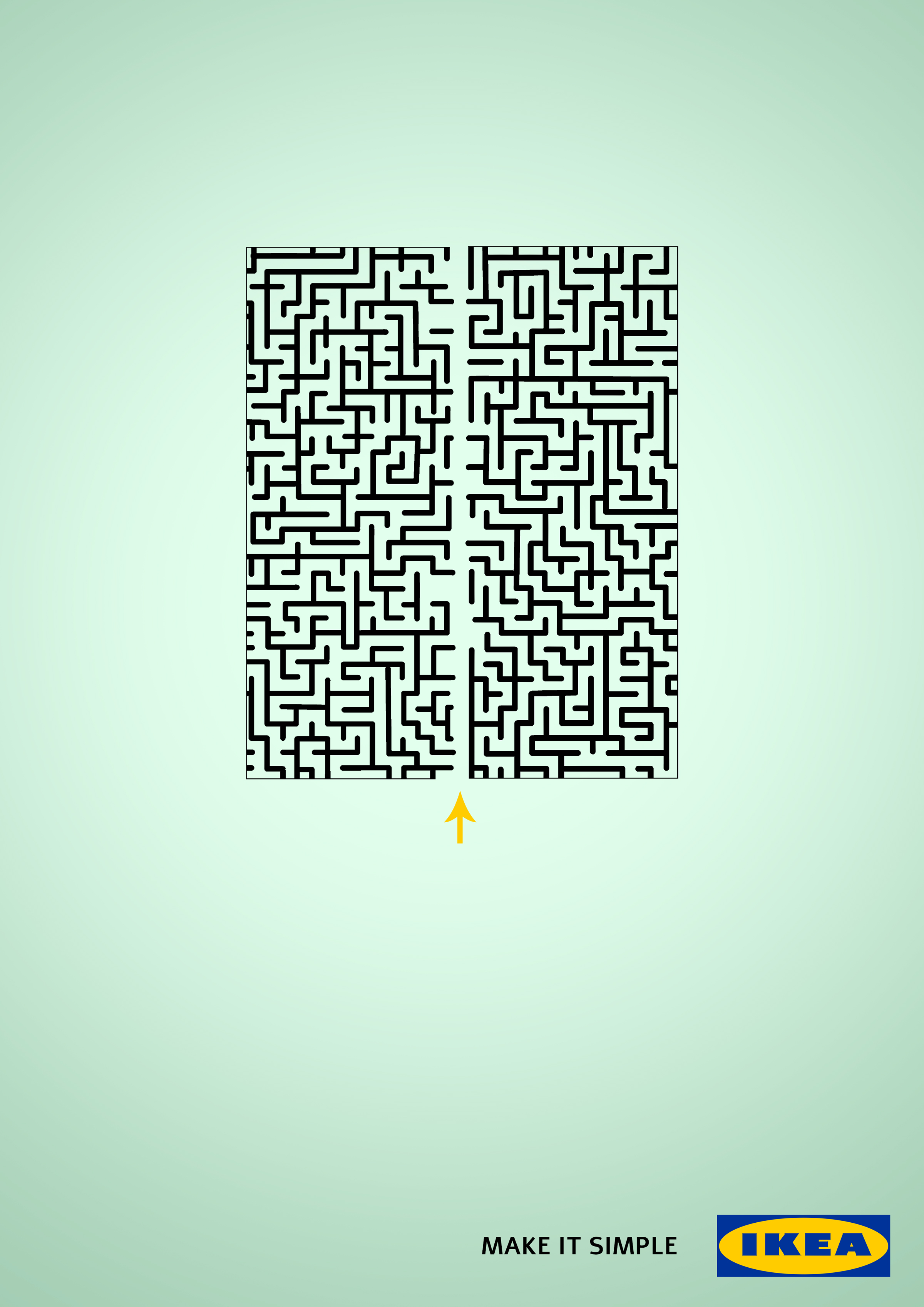 IKEA Print Advert By ACC Grannot: Maze | Ads of the World™