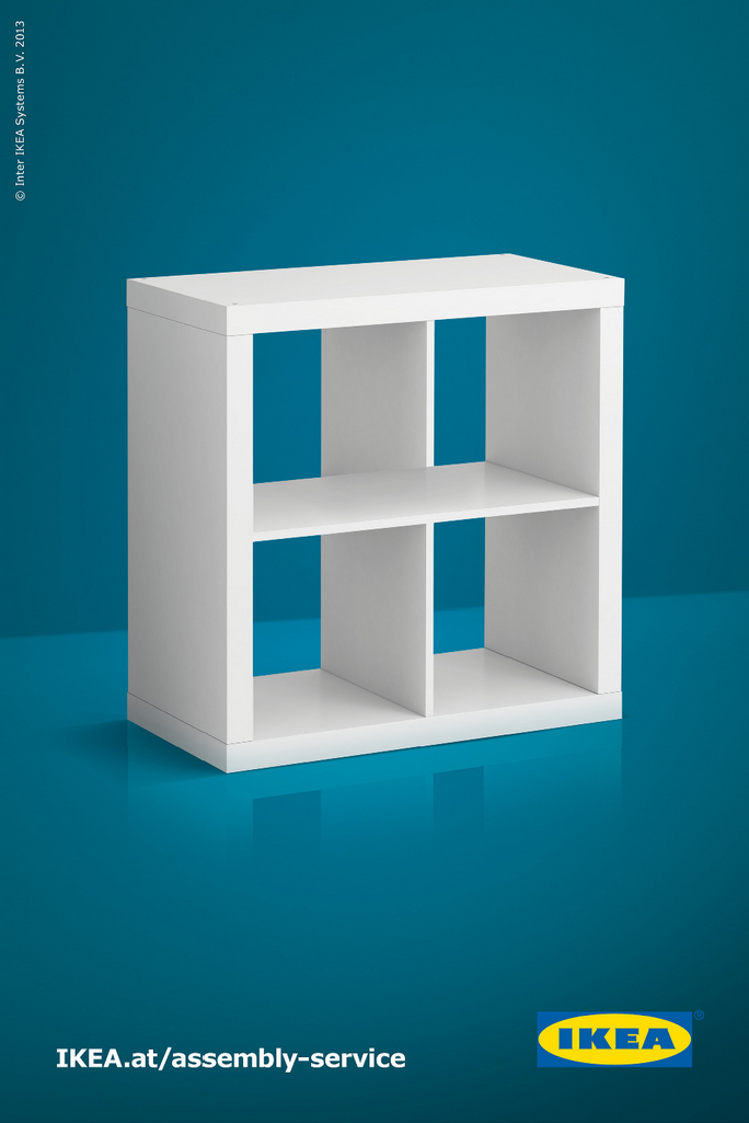 IKEA Print Ad   Shelf