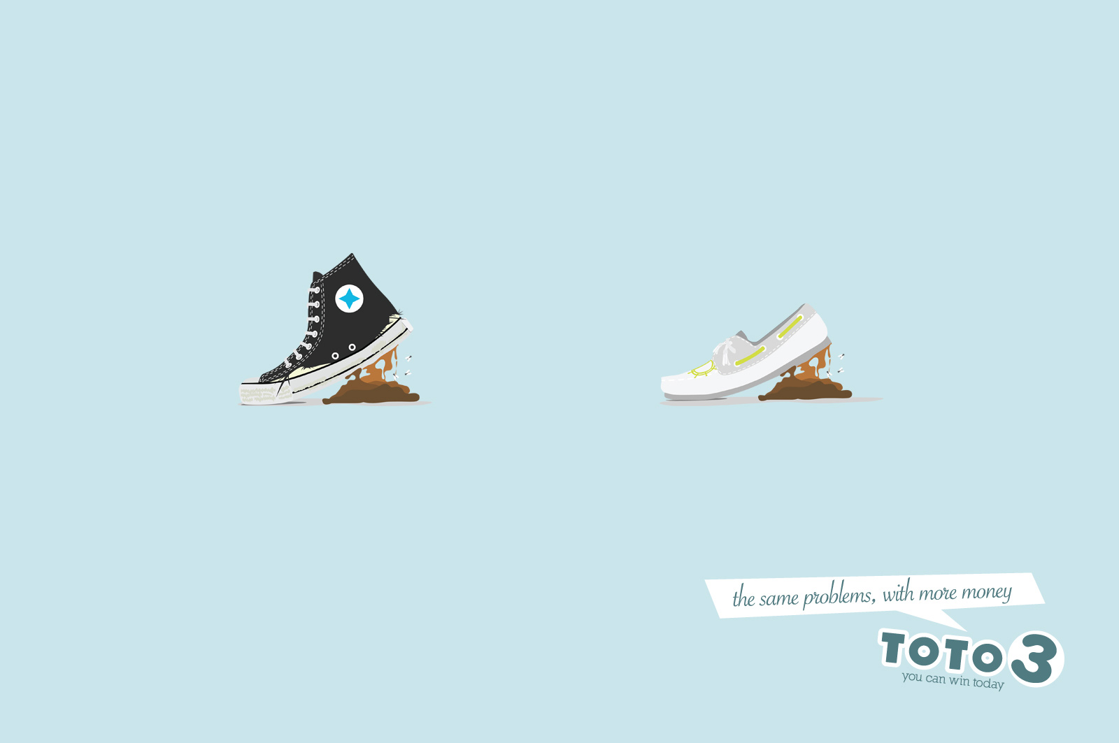 Toto 3 Print Advert By Grey: Shoes | Ads of the World™