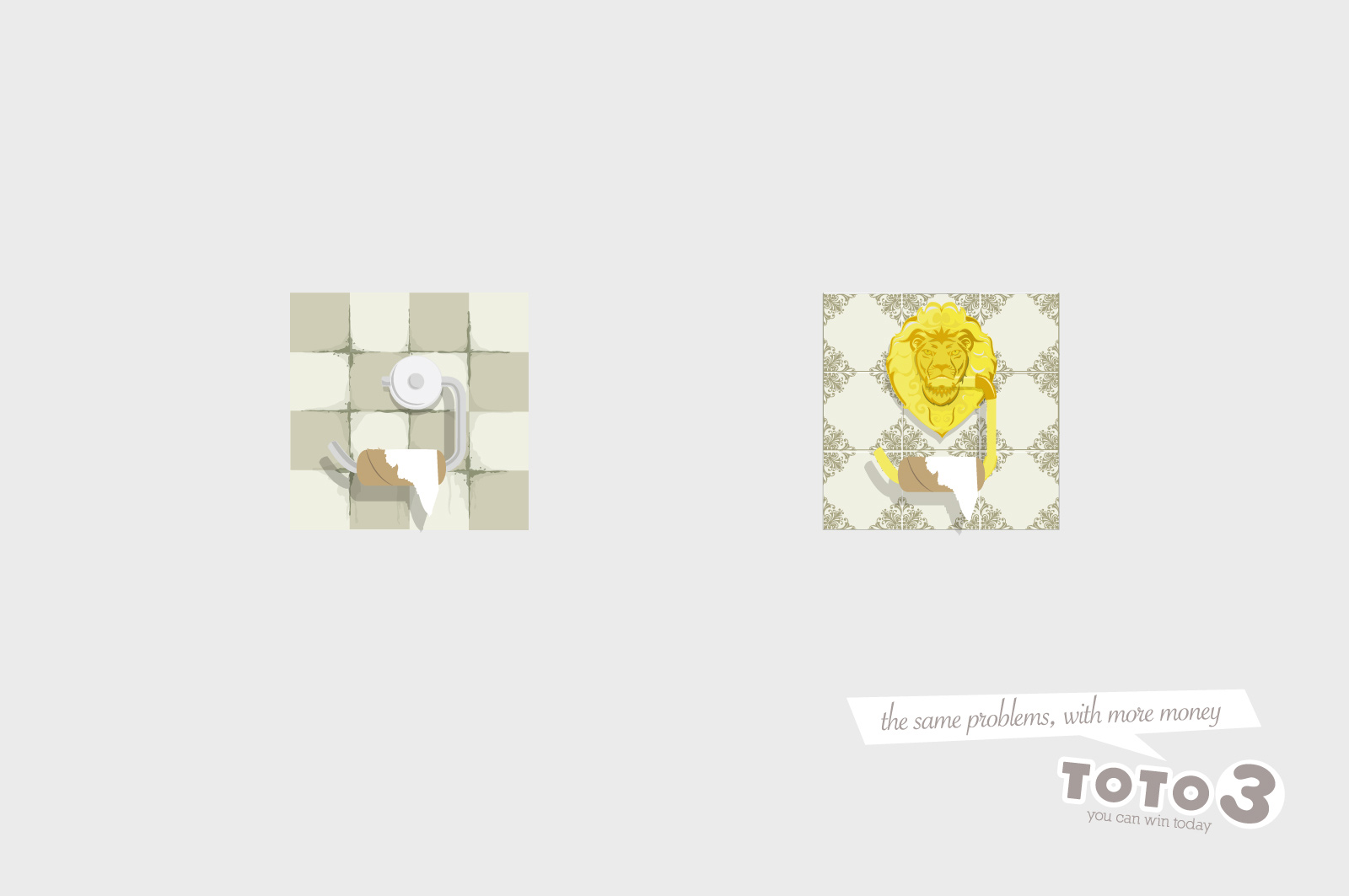 Toto 3 Print Advert By Grey: Toilet | Ads of the World™