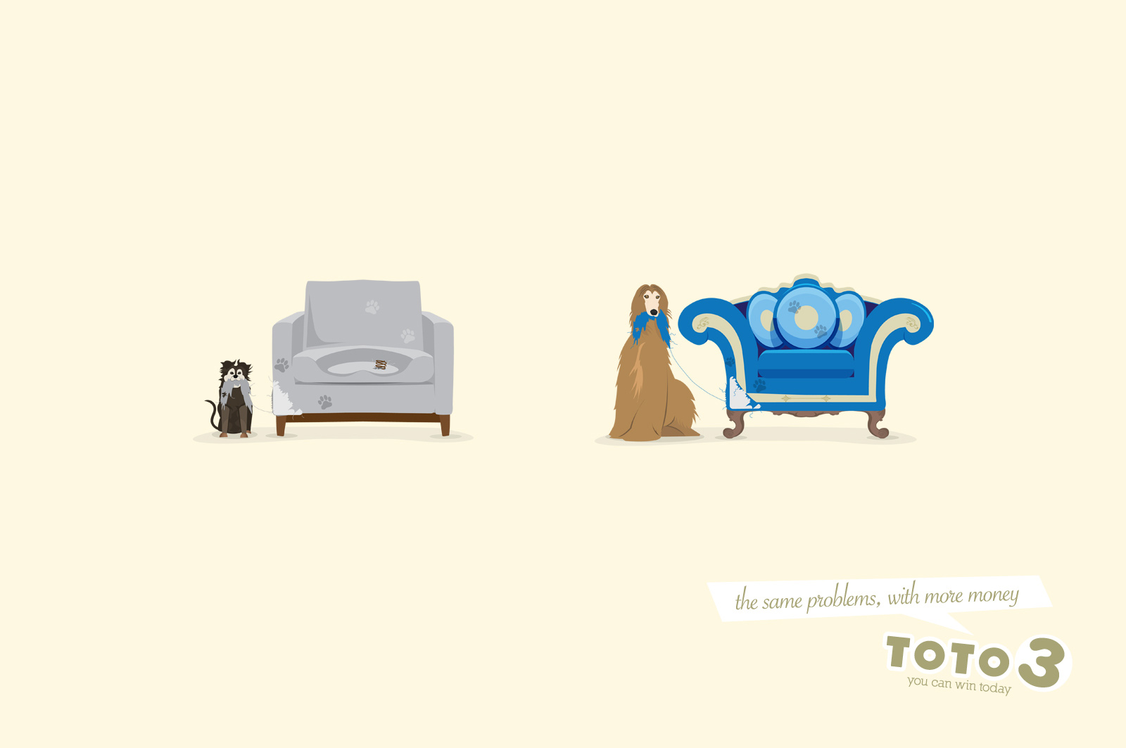 Toto 3 Print Advert By Grey: Sofa | Ads of the World™