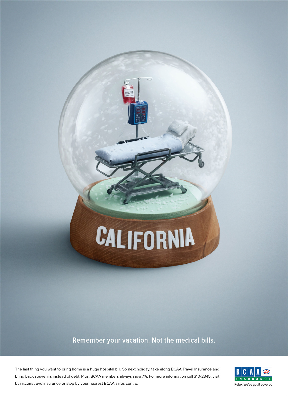 BCAA Print Advert By Rethink: Snowglobe | Ads of the World™