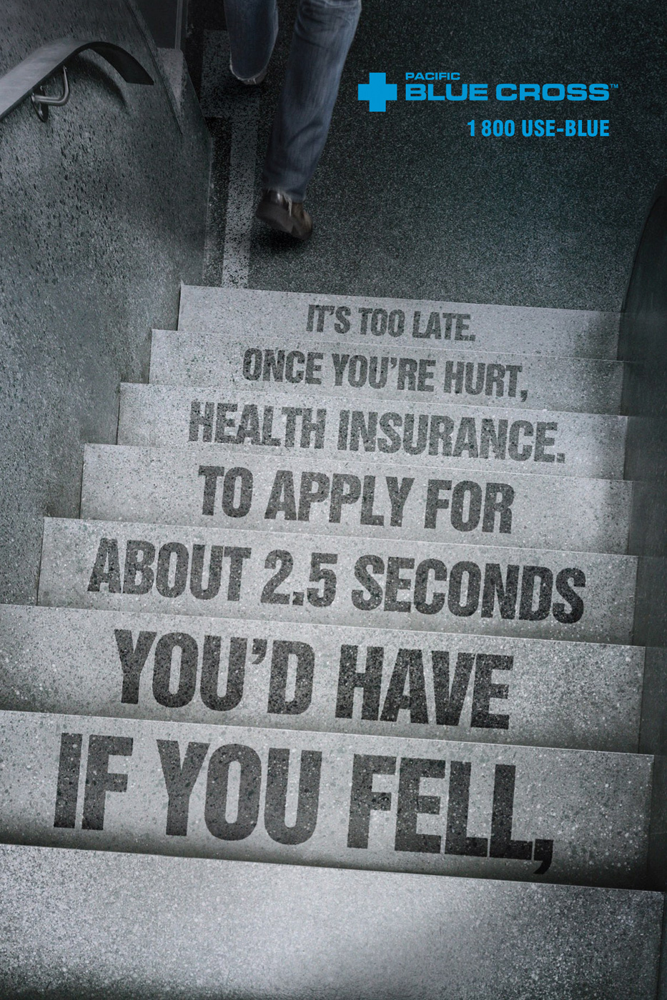 Blue Cross Health Insurance Quotes Pacific Blue Cross Print Advertddb Stairs  Ads Of The World™