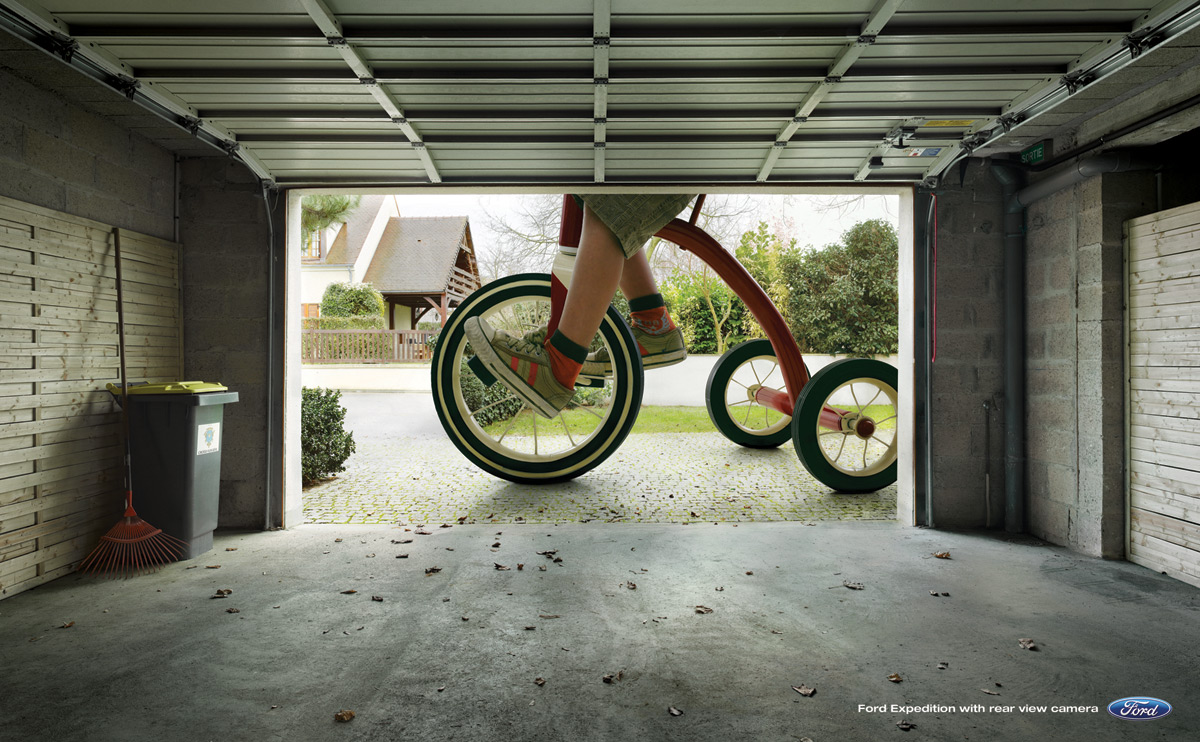 Ford Print Advert By JWT: Tricycle | Ads of the World™