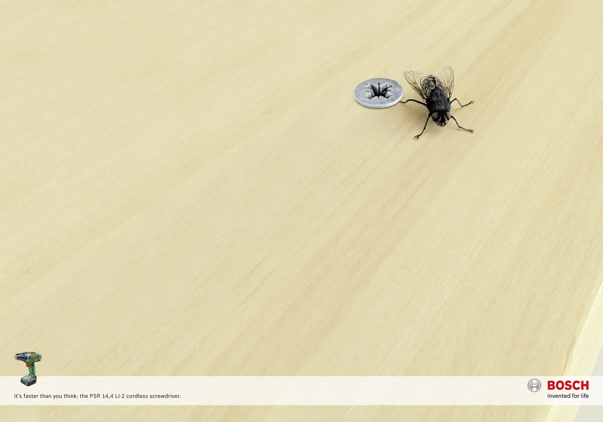 Perfect Bosch Print Ad   The Fly