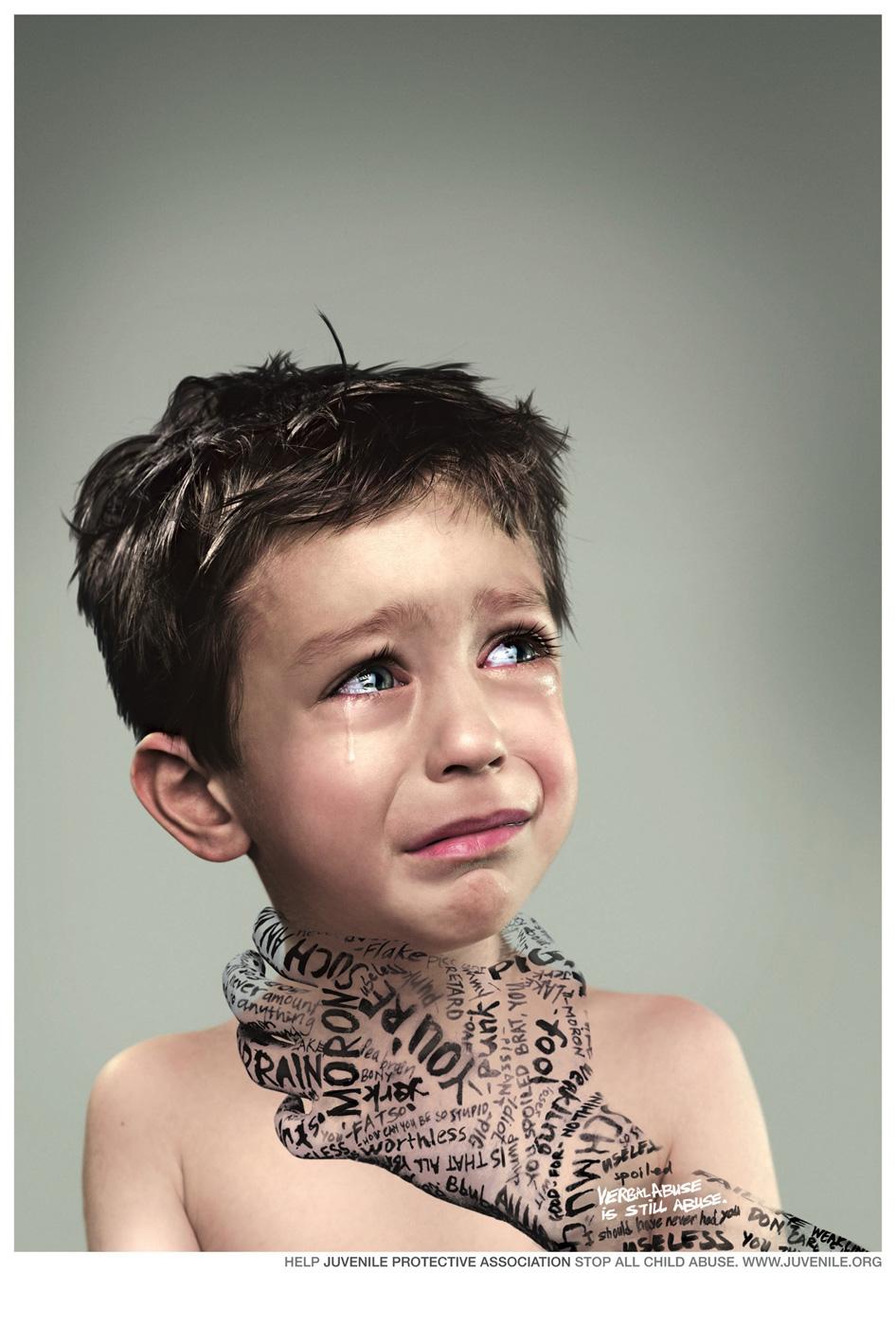 juvenile protective association print advert by euro rscg kid  juvenile protective association print ad kid 1