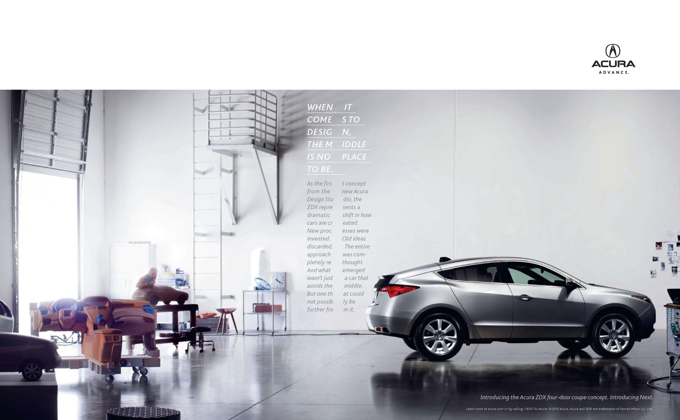 Honda Print Advert By rp&: Middle | Ads of the World™