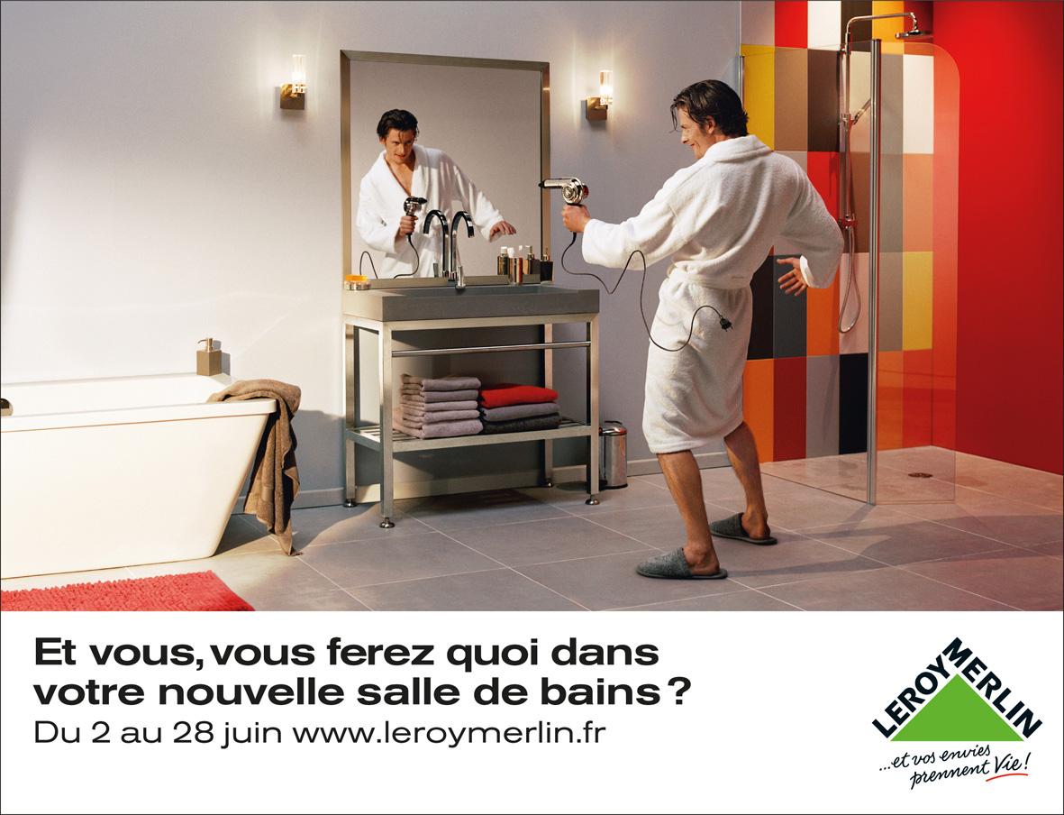 Leroy merlin print advert by kuryo: cowboy ads of the world™