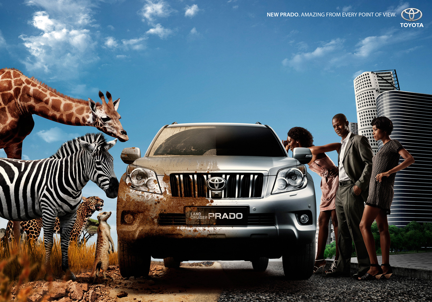 Toyota Print Advert By Executive Center 2 Sides Ads Of